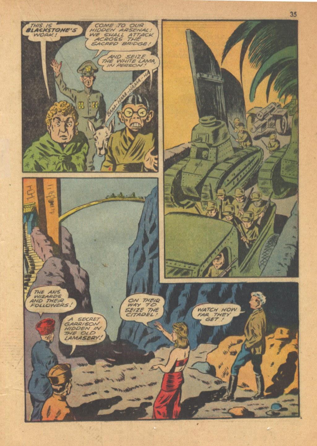 Read online Super-Magician Comics comic -  Issue #13 - 35