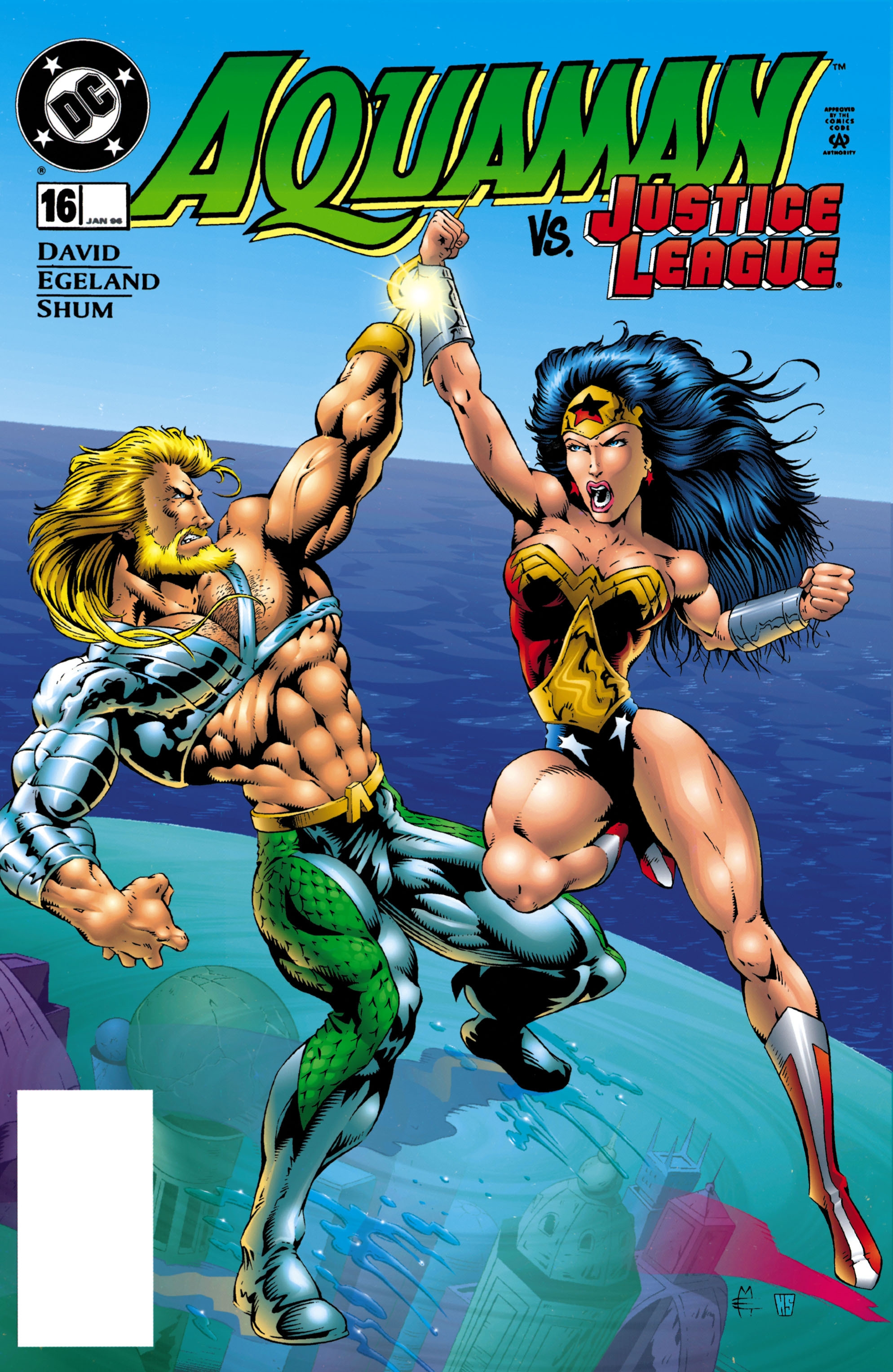 Aquaman (1994) 16 Page 1