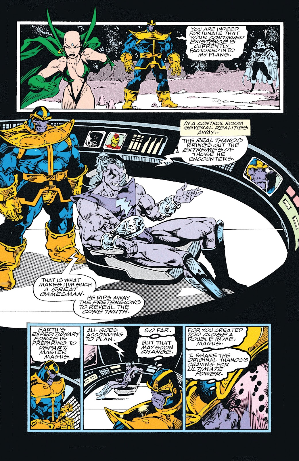 Read online Marvel Tales: Thanos comic -  Issue # Full - 58