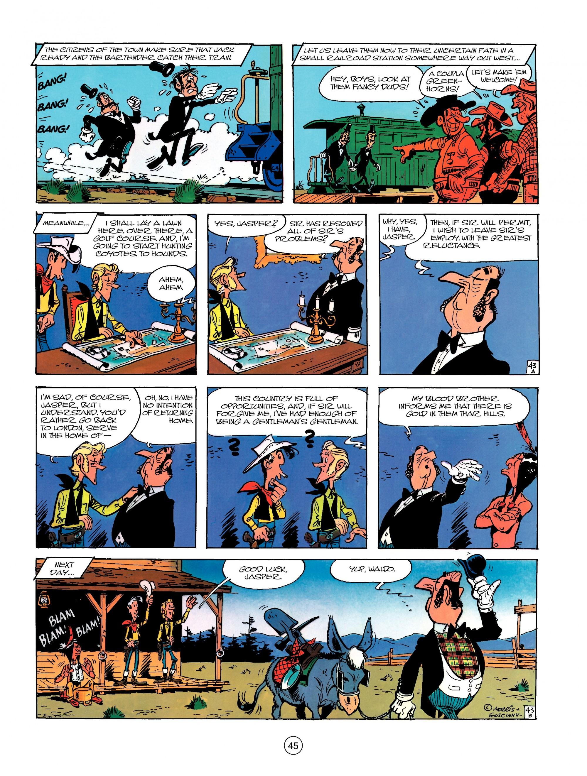 Read online A Lucky Luke Adventure comic -  Issue #13 - 45