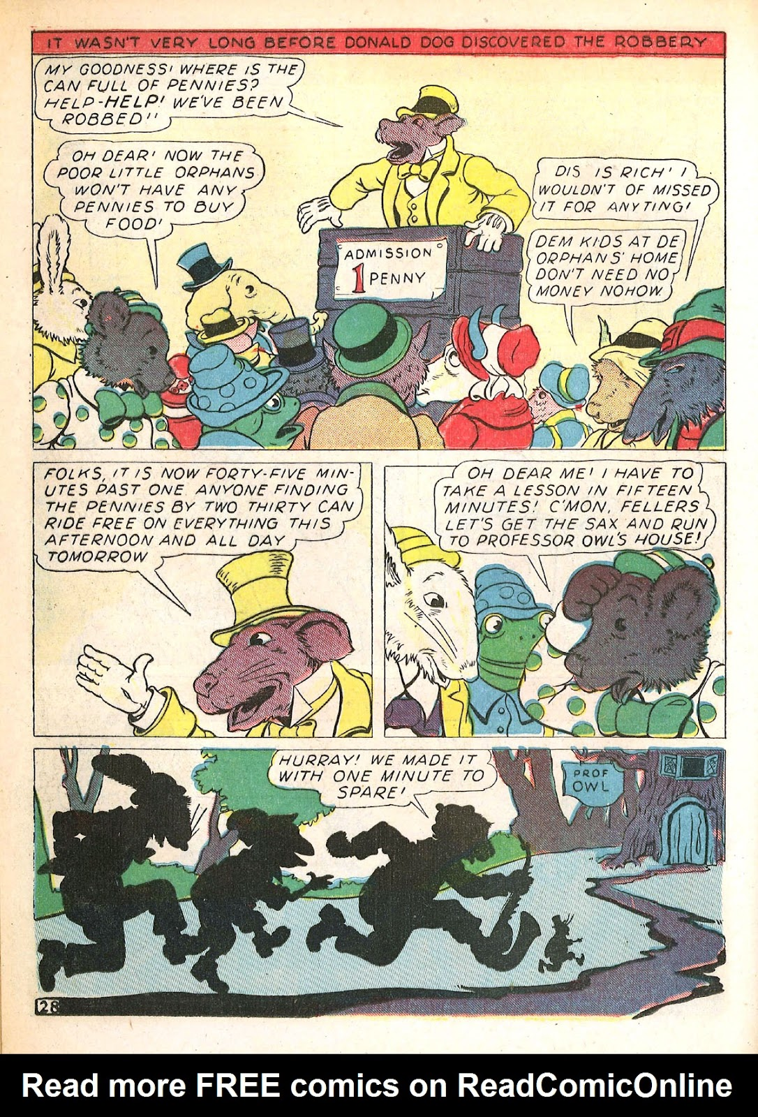 Read online Animal Comics comic -  Issue #4 - 31