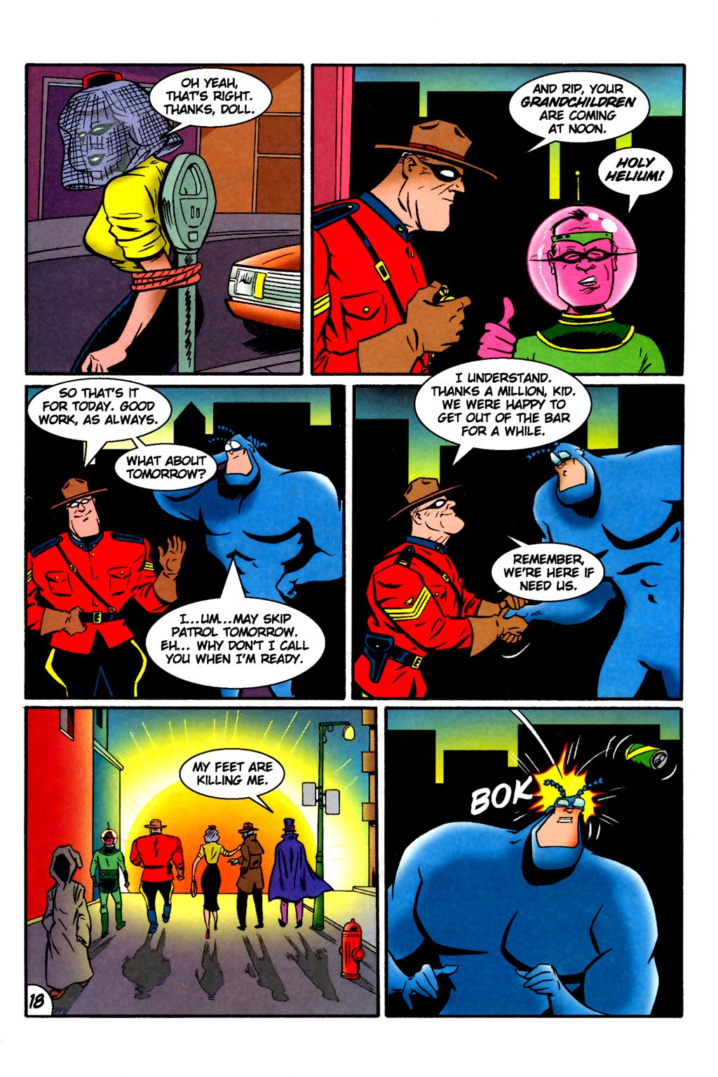 Read online The Tick: Days of Drama comic -  Issue #2 - 20