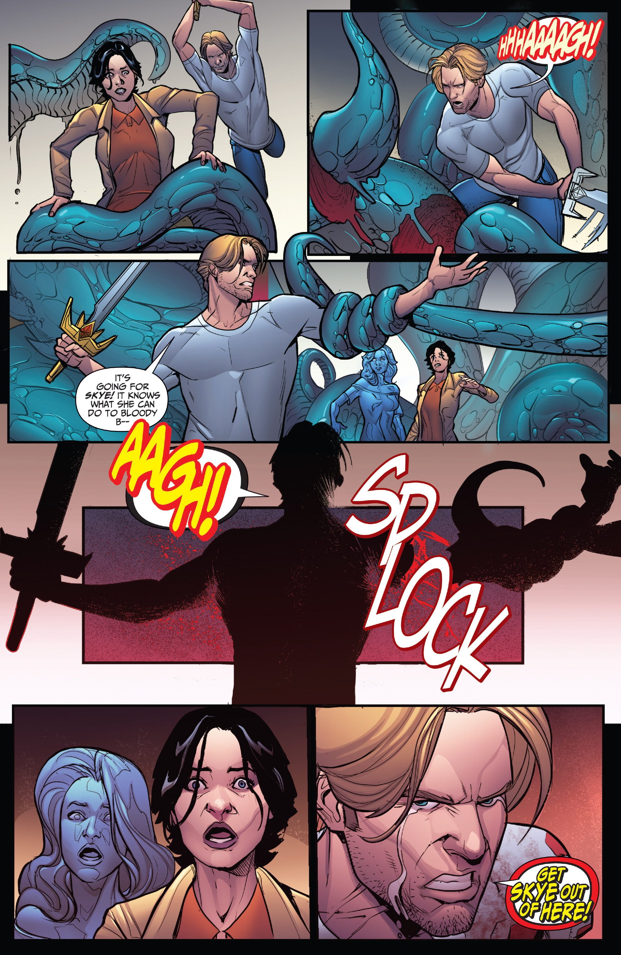 Read online Grimm Fairy Tales: Arcane Acre comic -  Issue # TPB 4 - 129