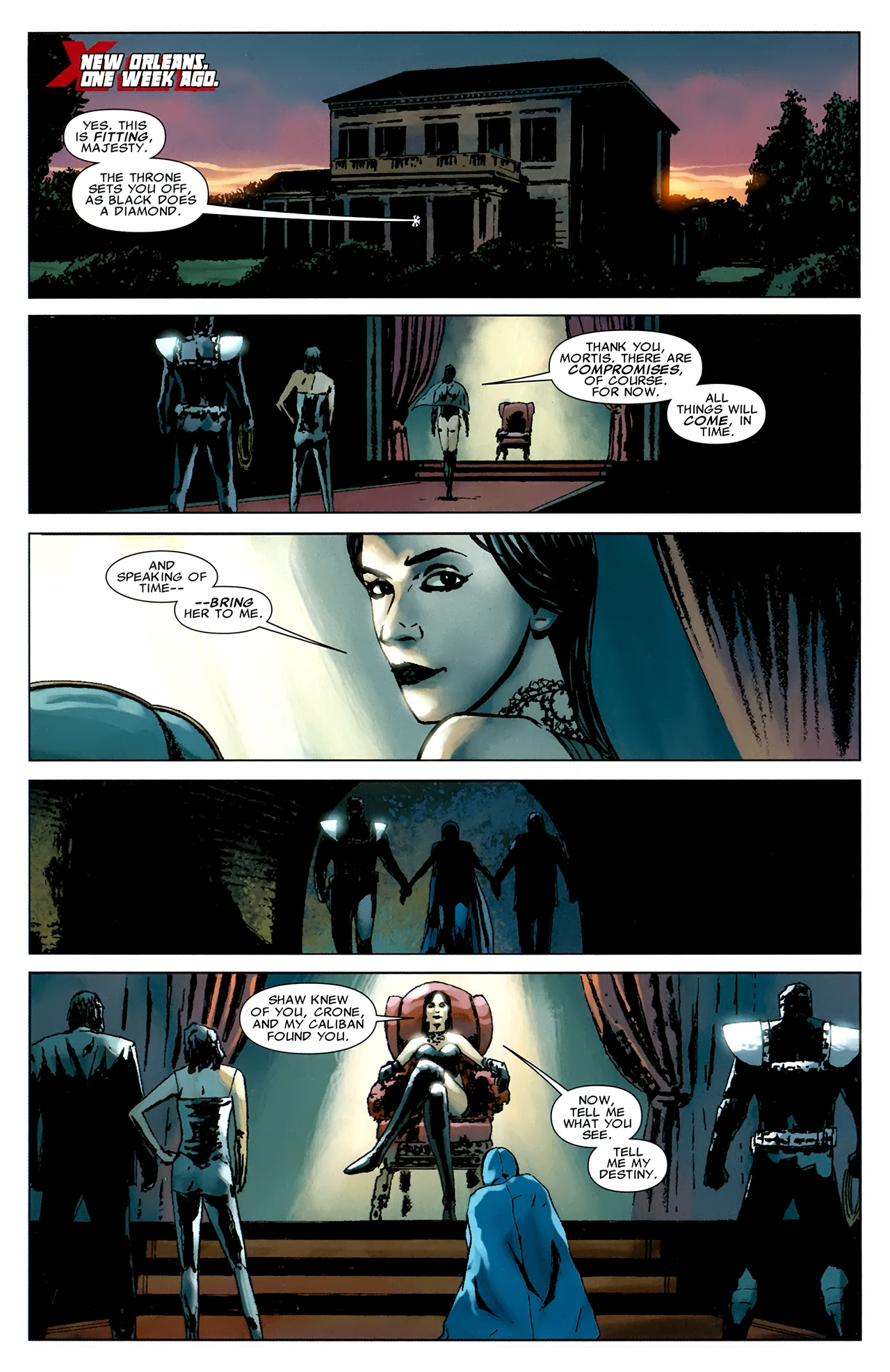Read online X Necrosha comic -  Issue # Full - 39
