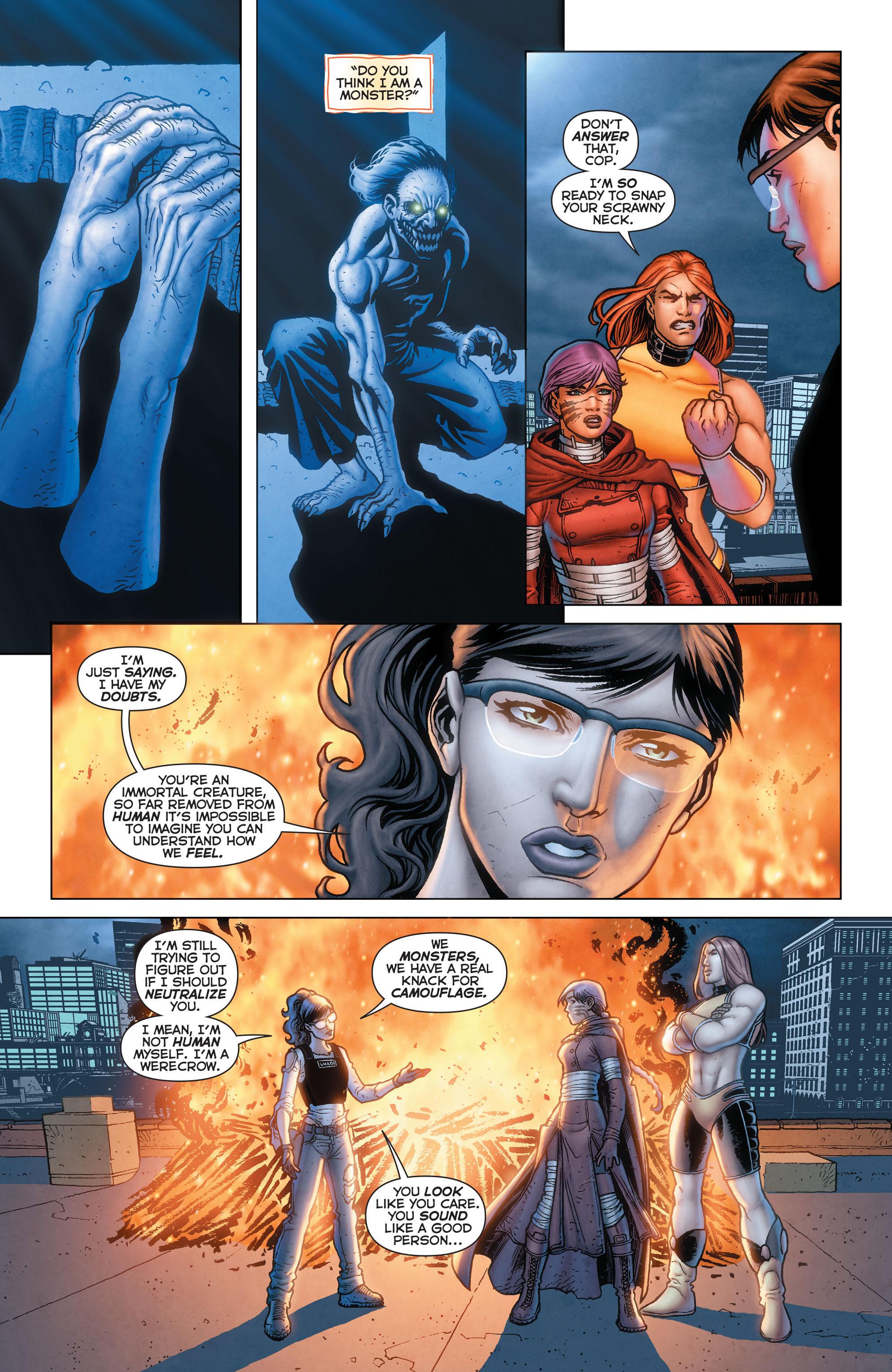 Read online Trinity of Sin: Pandora comic -  Issue #13 - 17