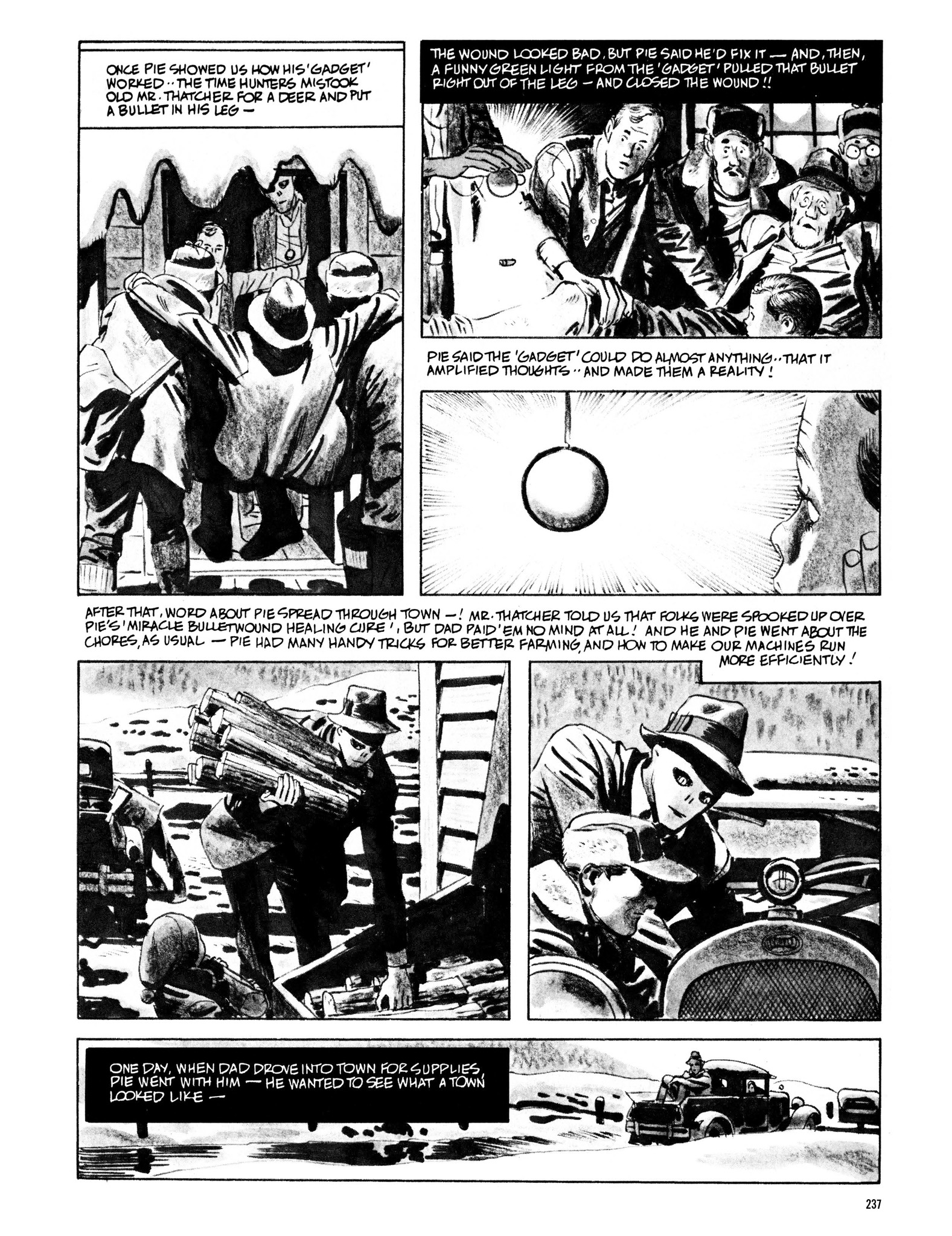 Read online Eerie Archives comic -  Issue # TPB 13 - 238