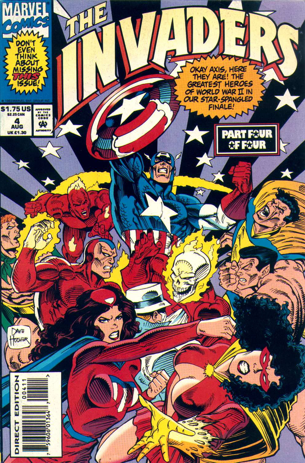 Read online The Invaders (1993) comic -  Issue #4 - 1