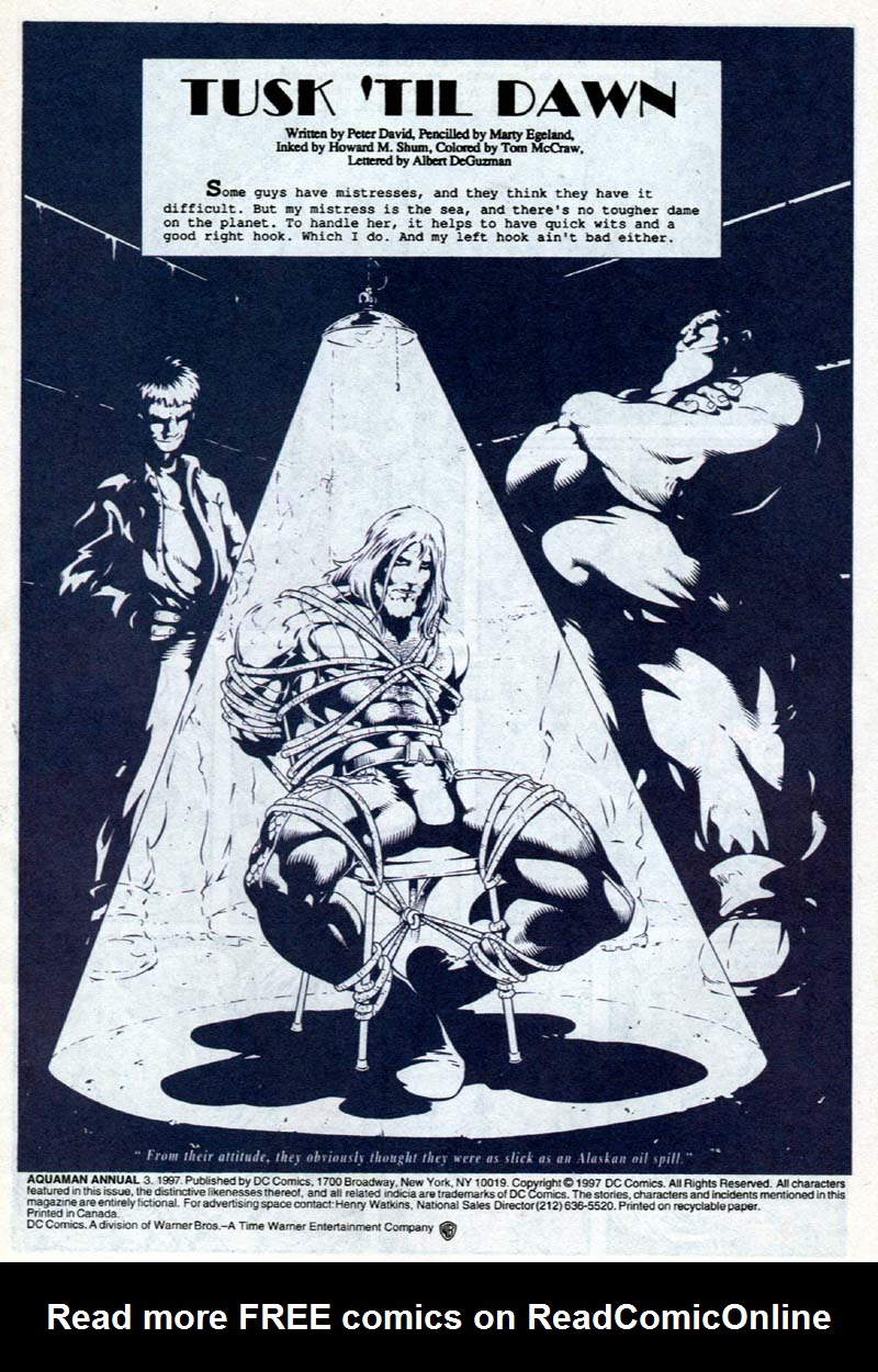 Read online Aquaman (1994) comic -  Issue #Aquaman (1994) _Annual 3 - 2