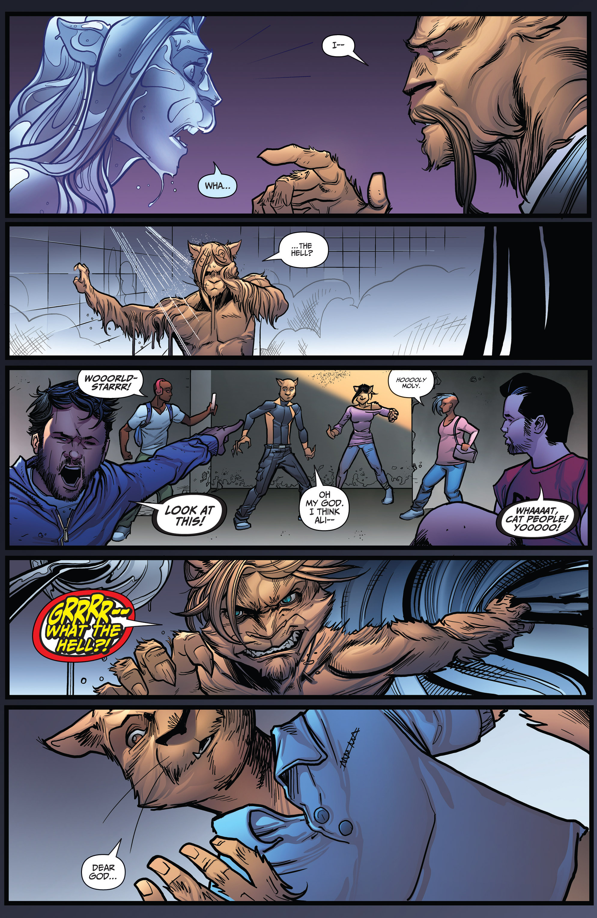 Read online Grimm Fairy Tales: Arcane Acre comic -  Issue # TPB 3 - 129