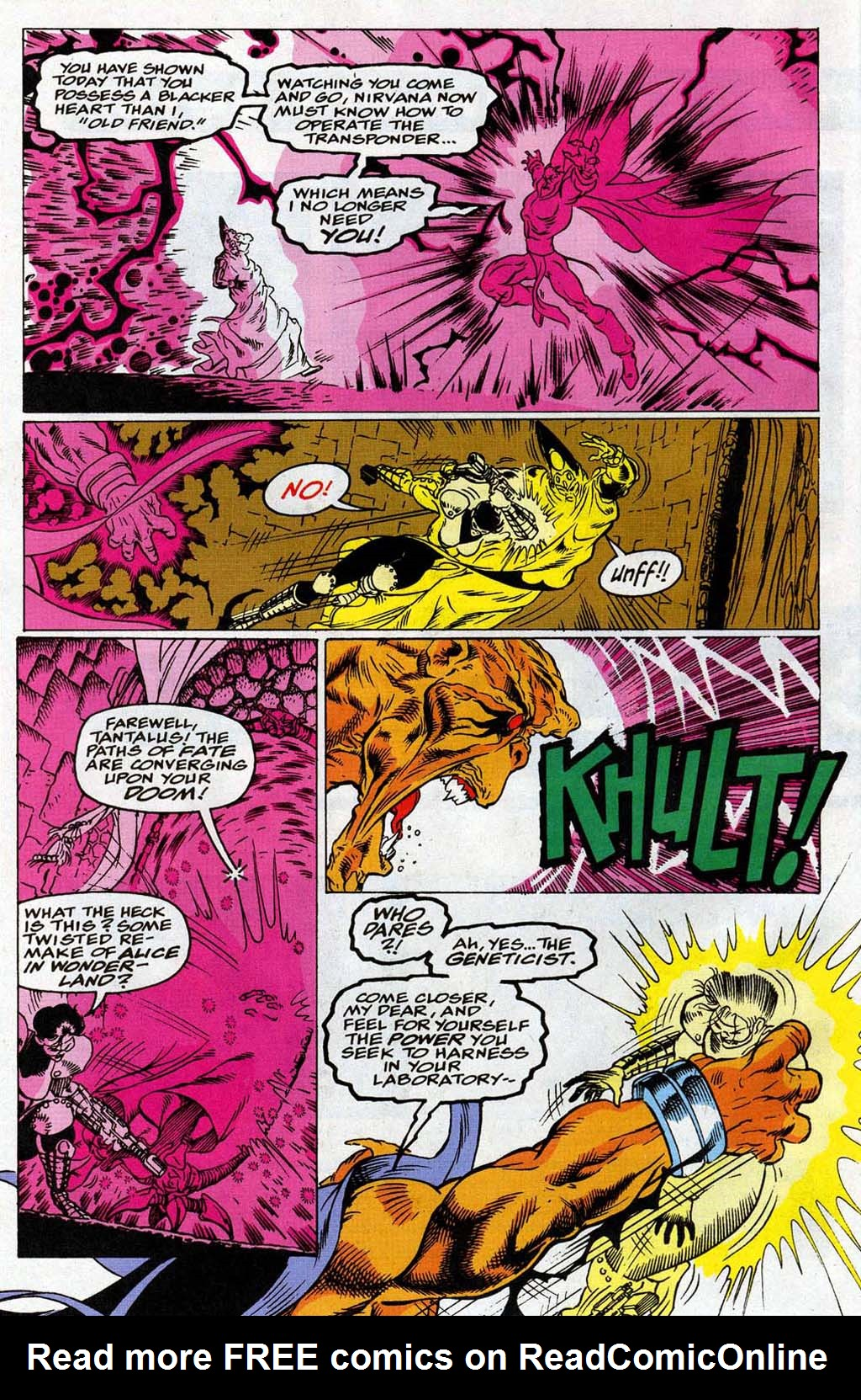 Read online Blackwulf comic -  Issue #9 - 7