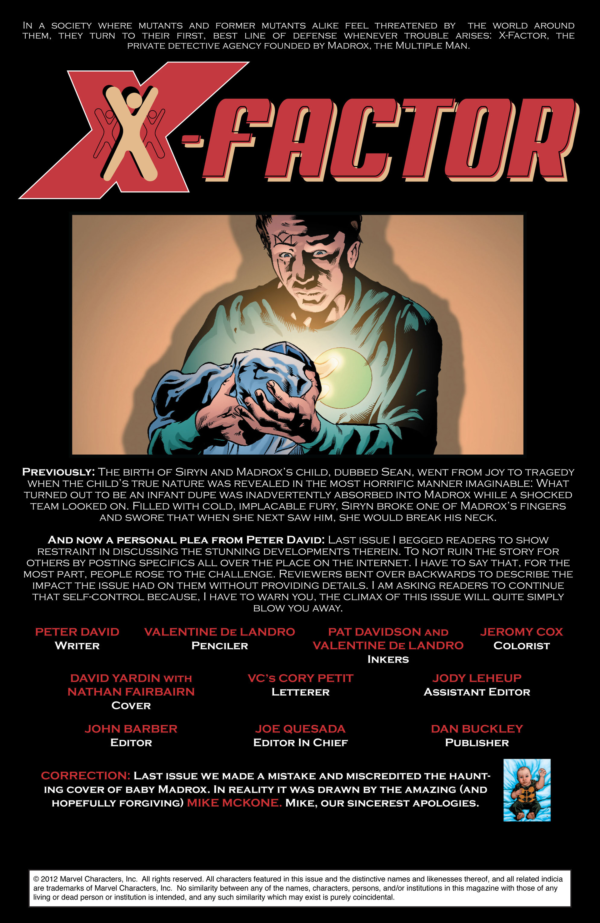Read online X-Factor (2006) comic -  Issue #40 - 2