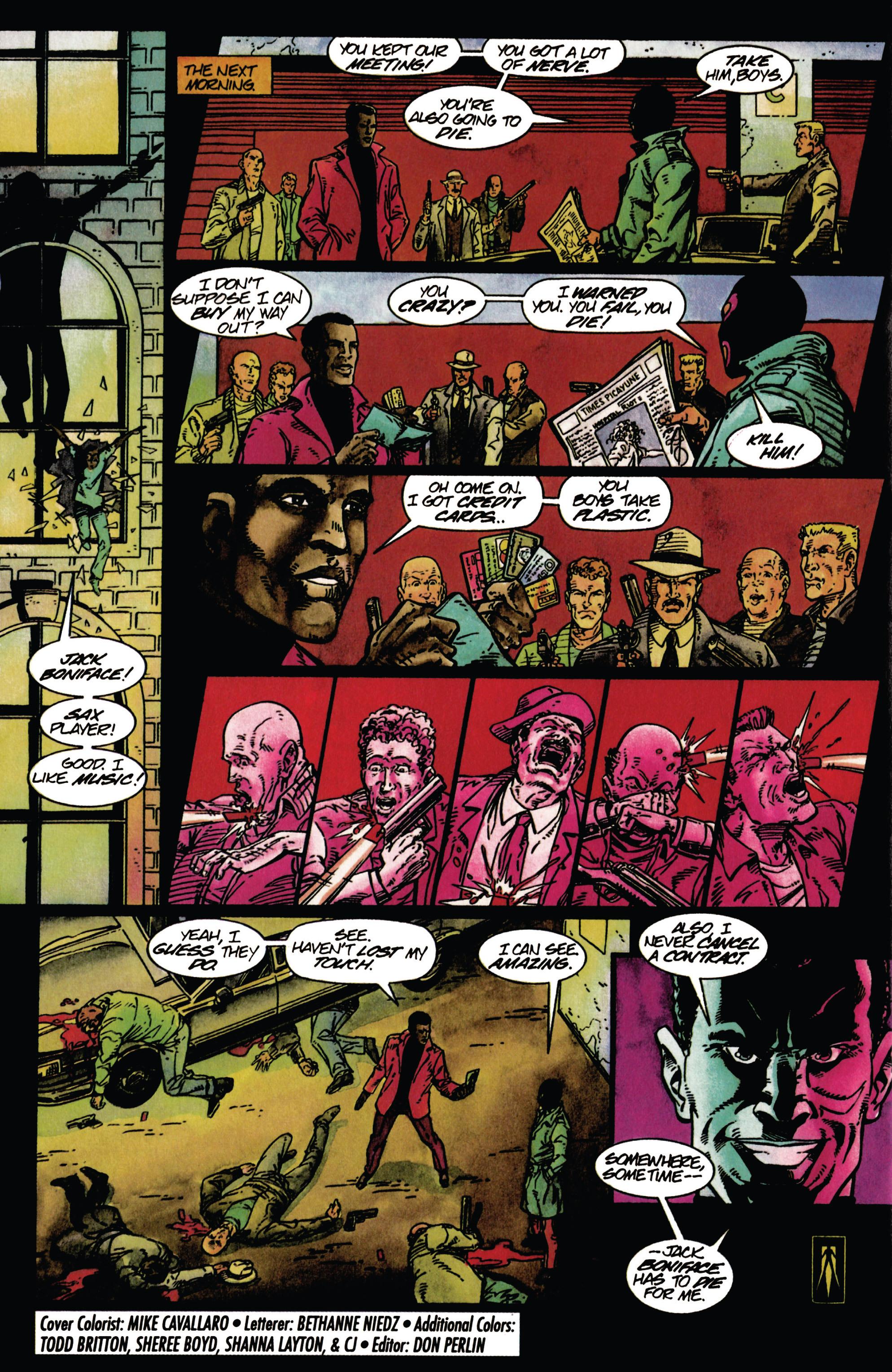 Read online Shadowman (1992) comic -  Issue #27 - 22