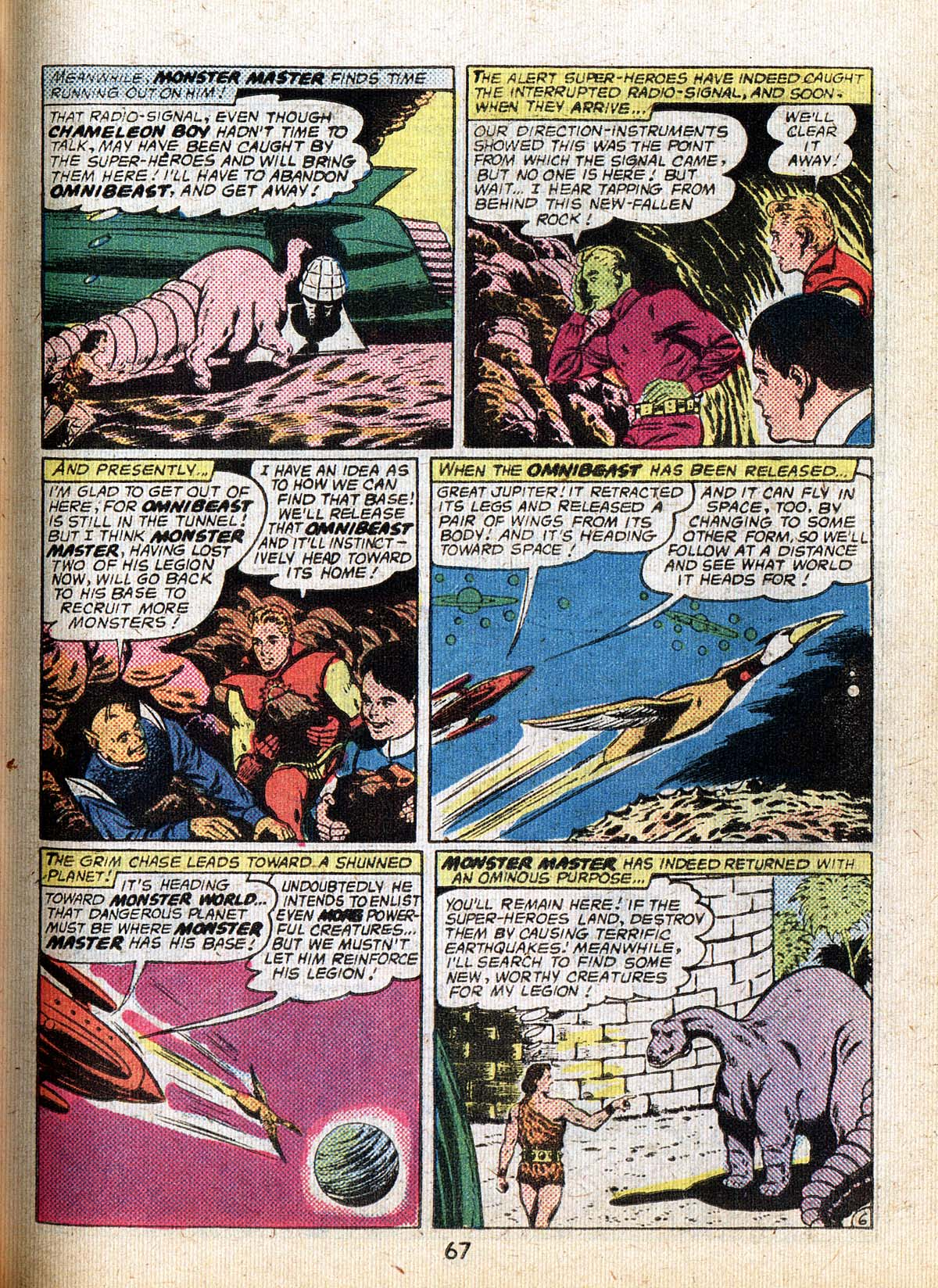 Read online Adventure Comics (1938) comic -  Issue #500 - 67