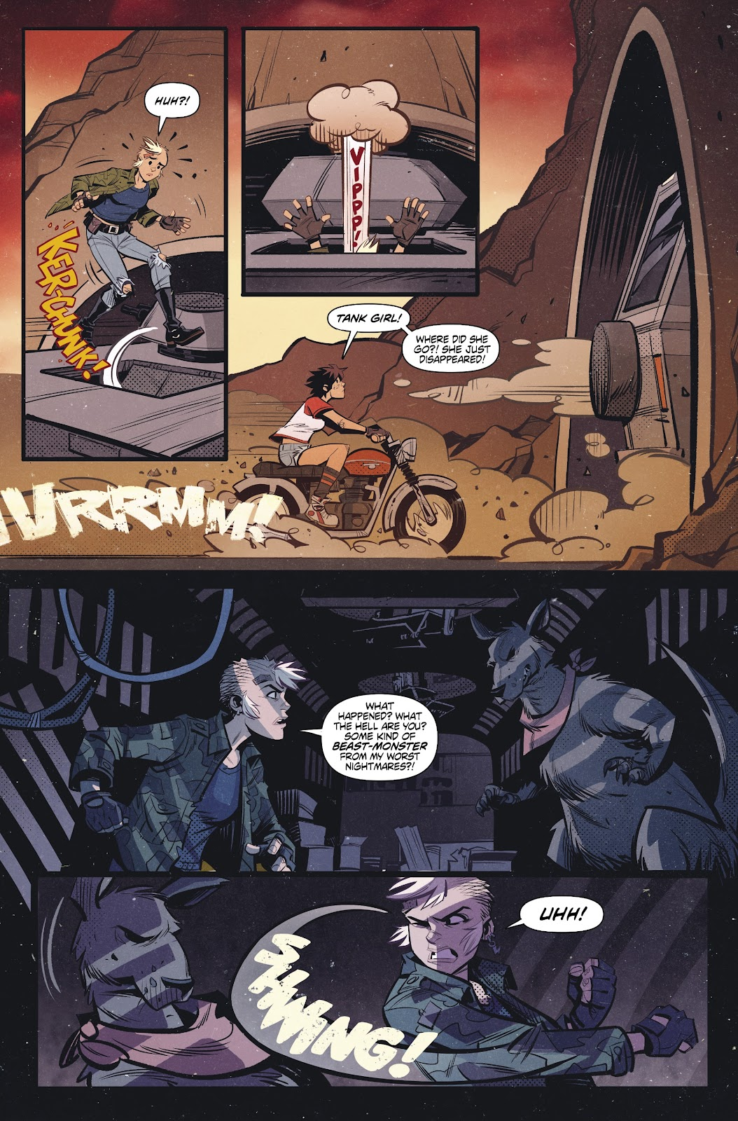 Read online Tank Girl Ongoing comic -  Issue #2 - 6