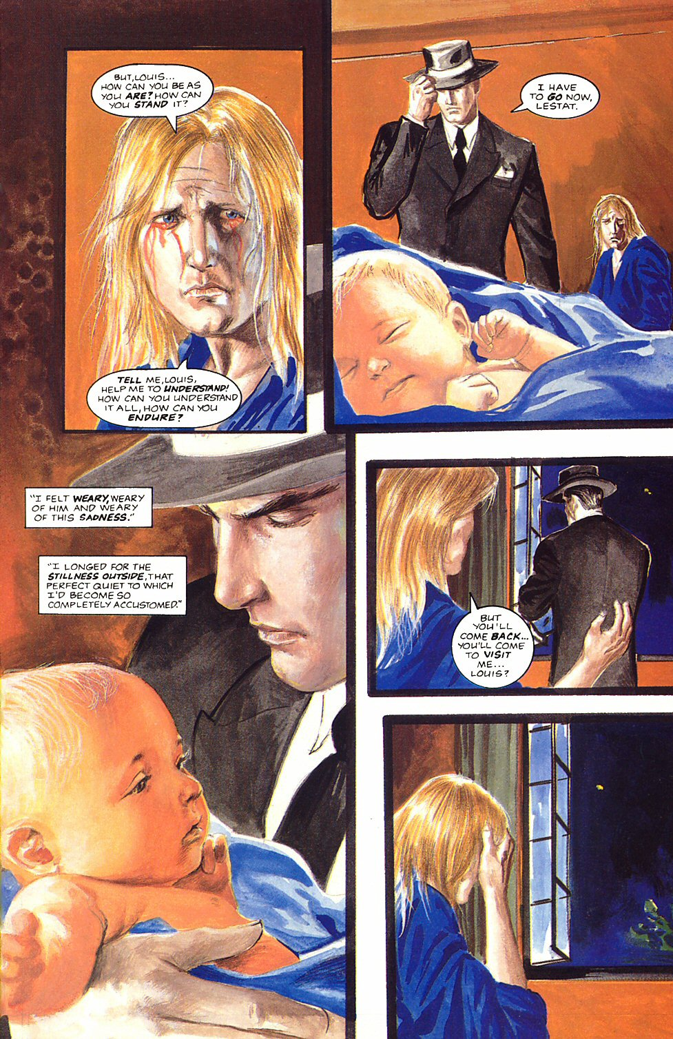 Read online Anne Rice's Interview with the Vampire comic -  Issue #12 - 19