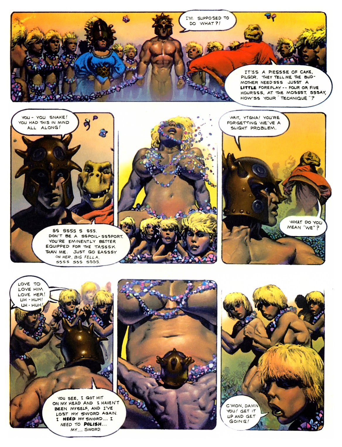 Read online The Bodyssey comic -  Issue # Full - 32