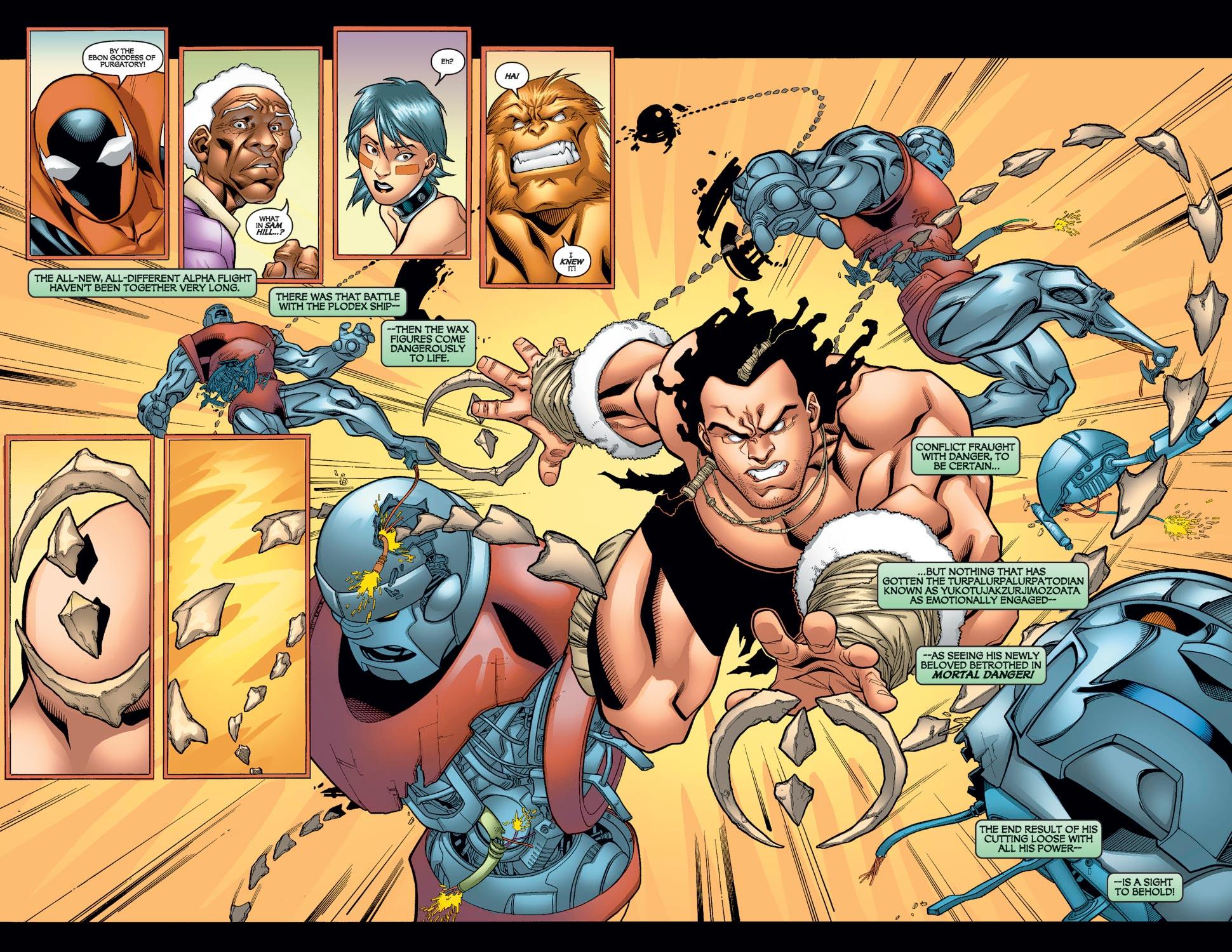 Read online Alpha Flight (2004) comic -  Issue #10 - 5