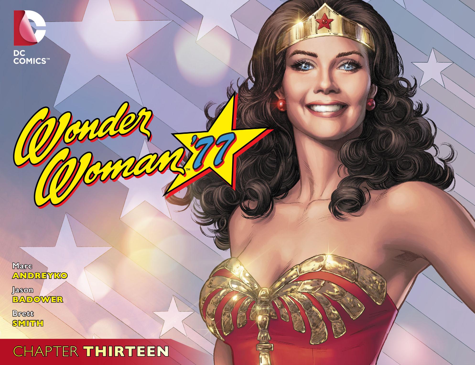 Read online Wonder Woman '77 [I] comic -  Issue #13 - 1