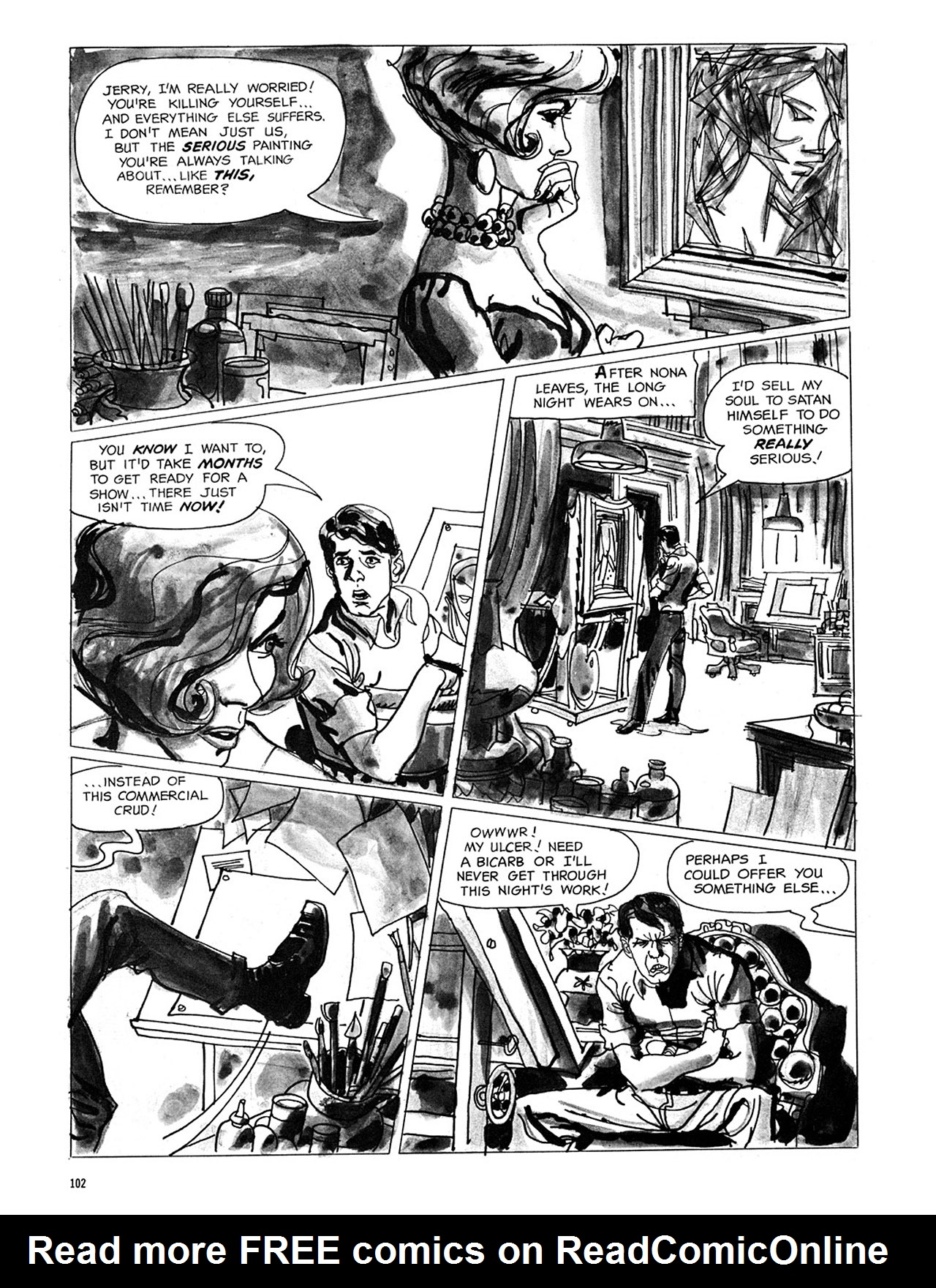 Read online Eerie Archives comic -  Issue # TPB 3 - 103