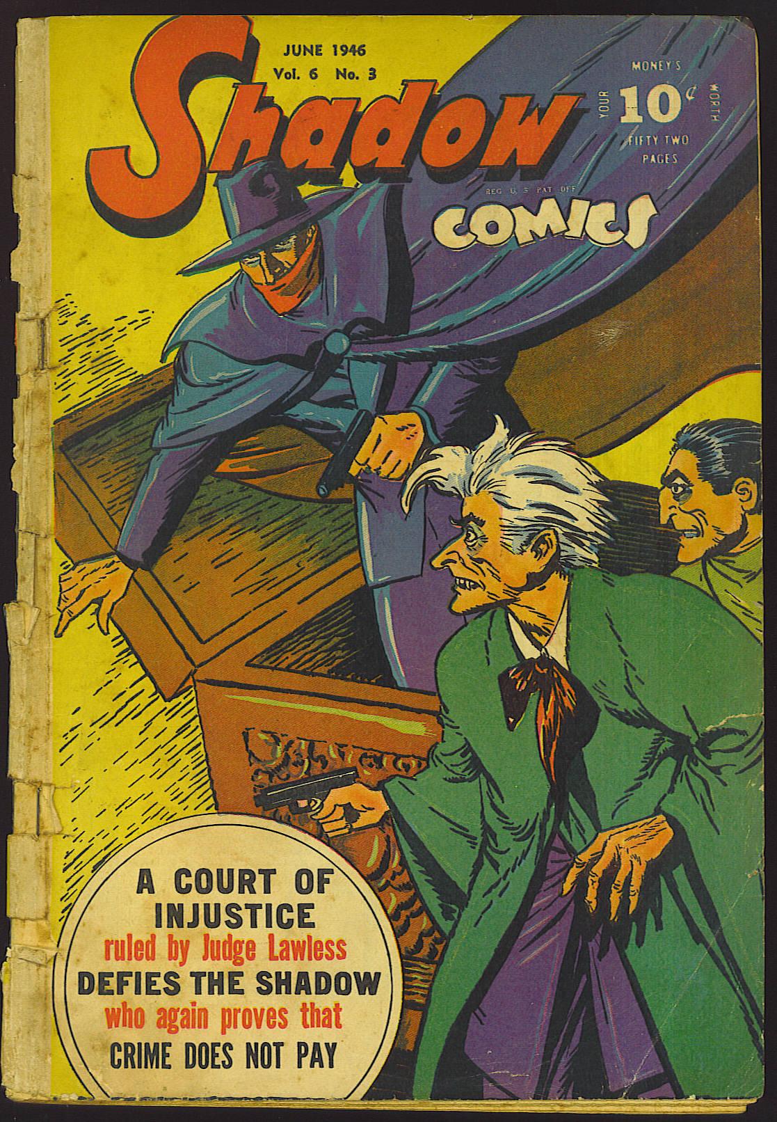 Read online Shadow Comics comic -  Issue #63 - 49