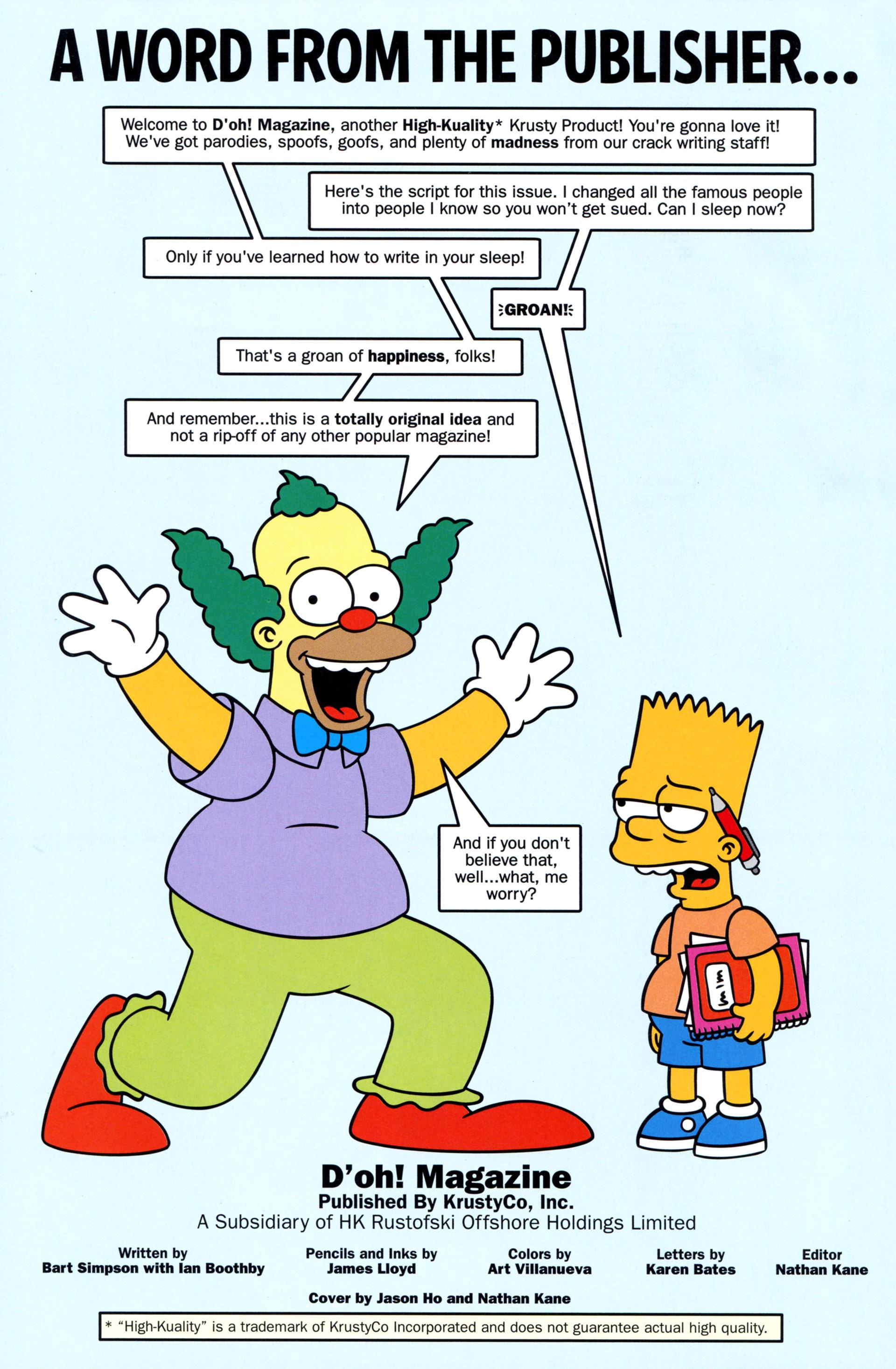 Read online Simpsons Comics comic -  Issue #203 - 25