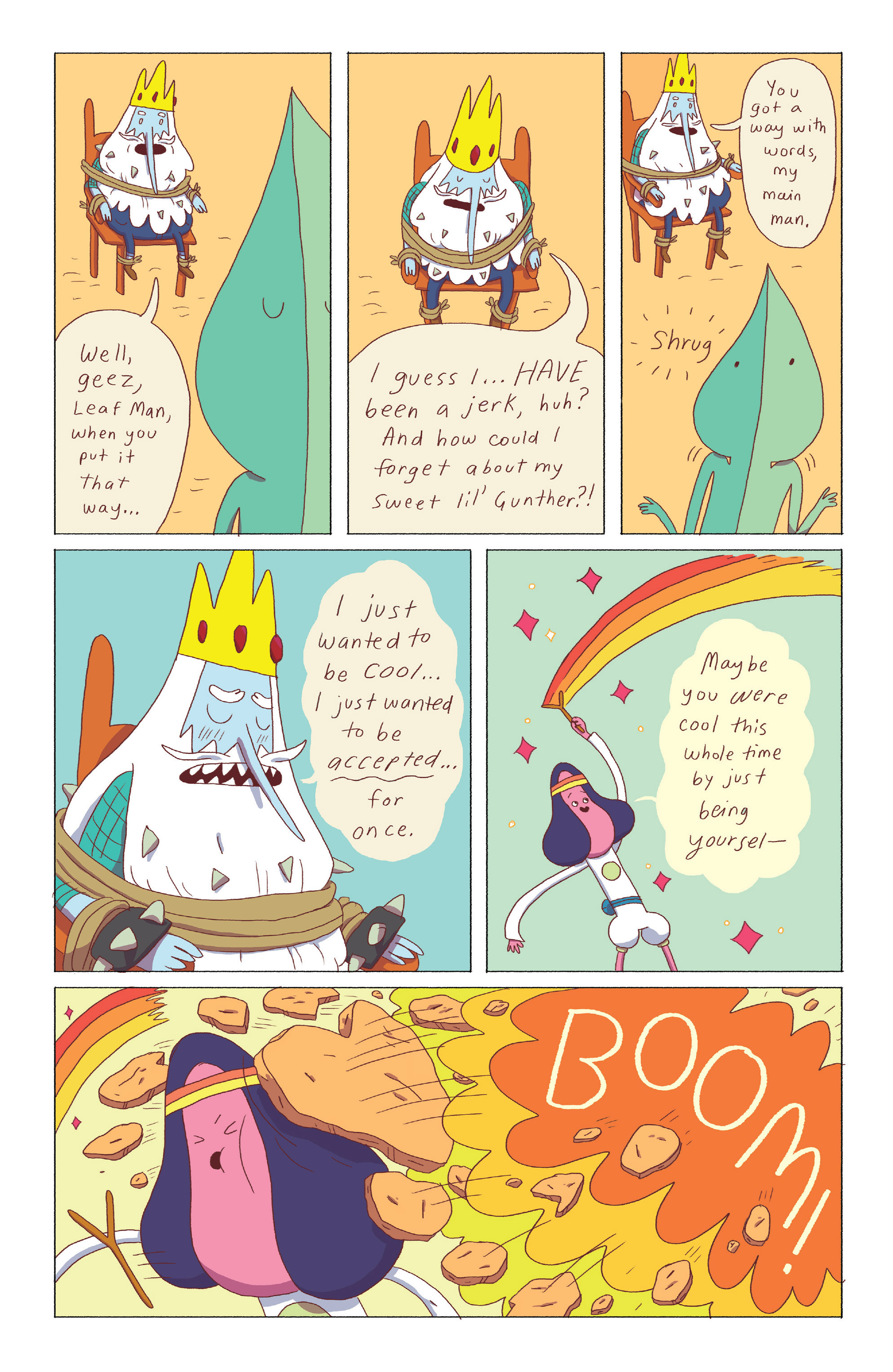 Read online Adventure Time: Ice King comic -  Issue #3 - 23
