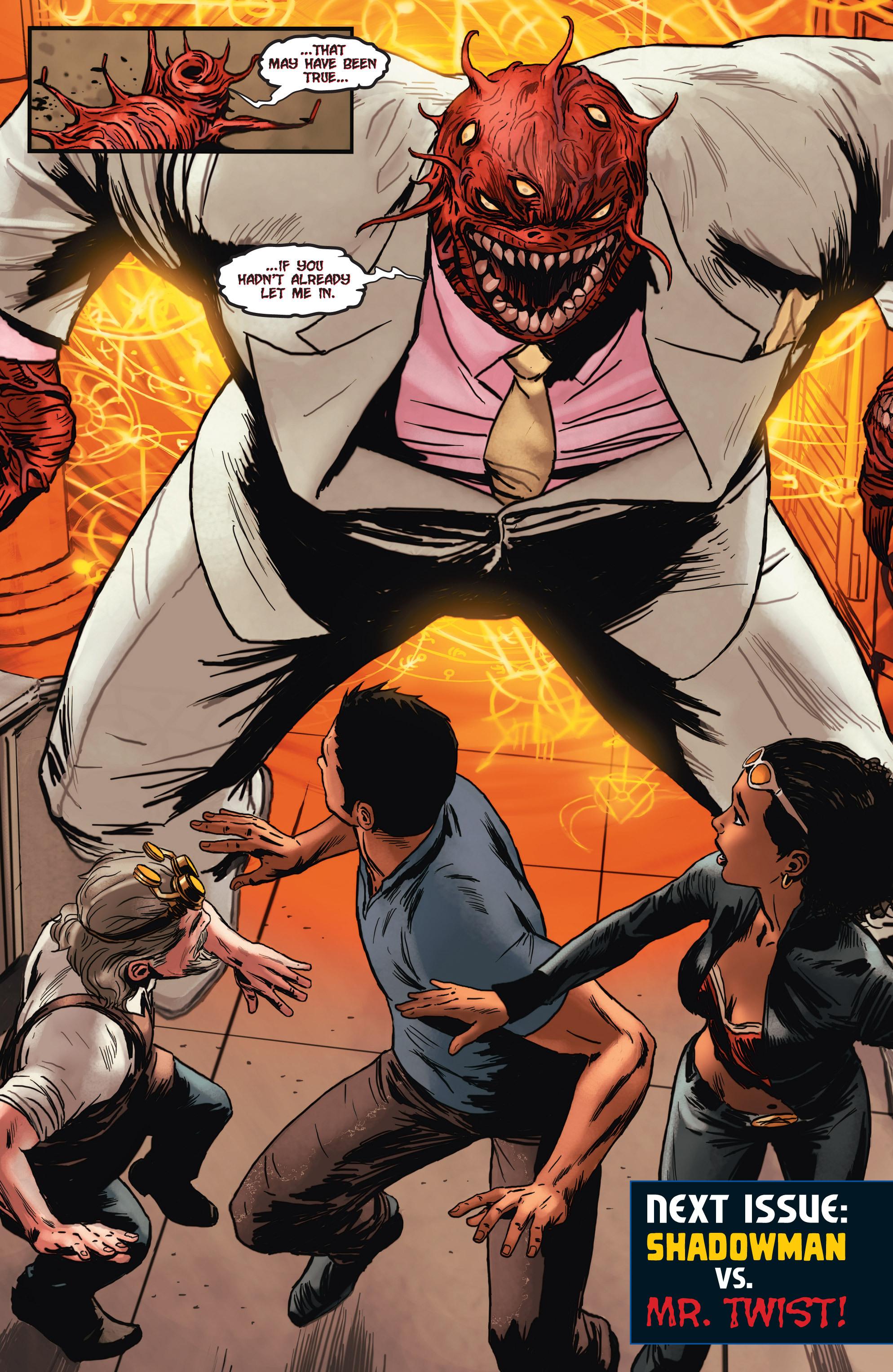 Read online Shadowman (2012) comic -  Issue #2 - 26