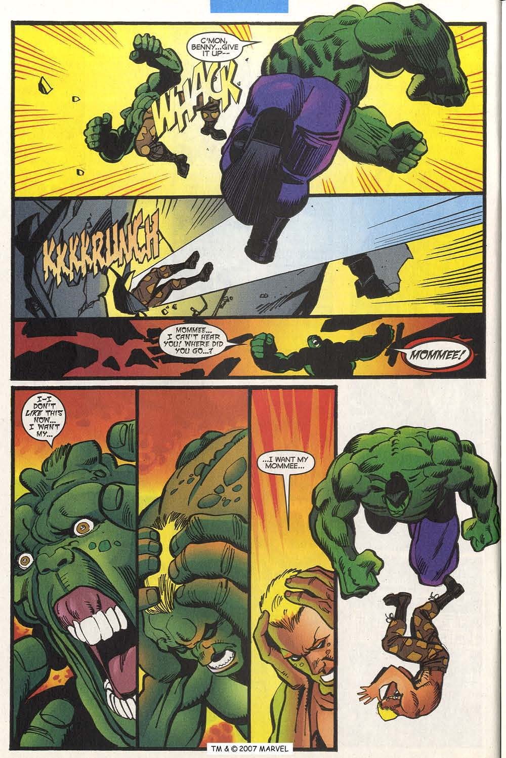 Read online The Incredible Hulk (2000) comic -  Issue #20 - 30