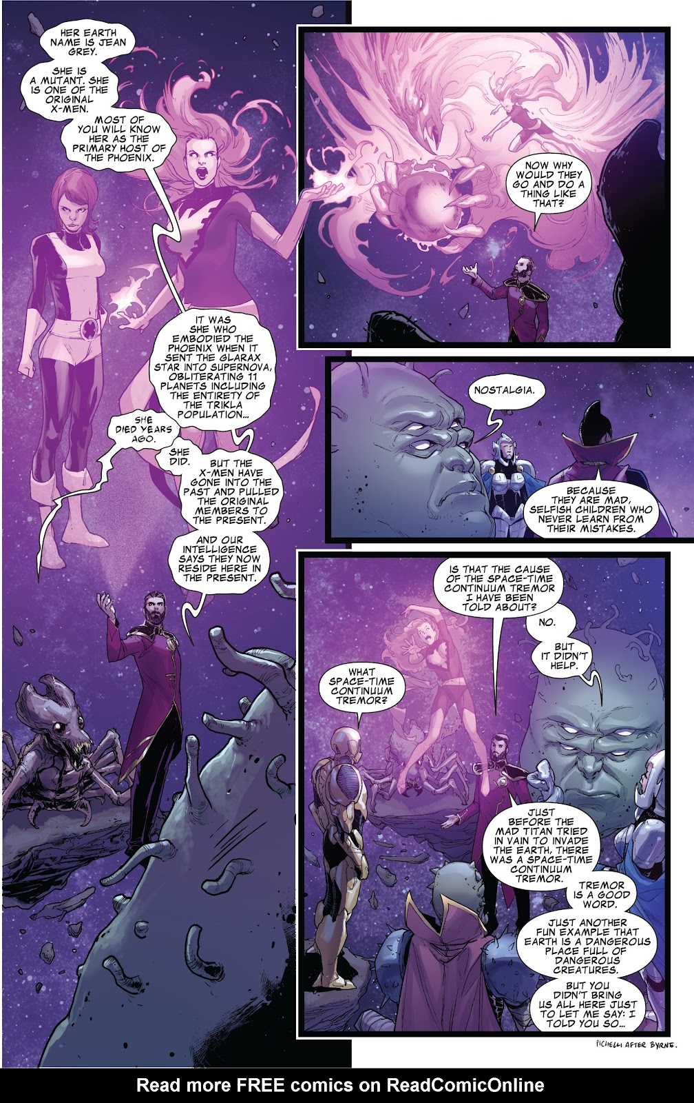 Guardians of the Galaxy/All-New X-Men: The Trial of Jean Grey issue TPB - Page 30
