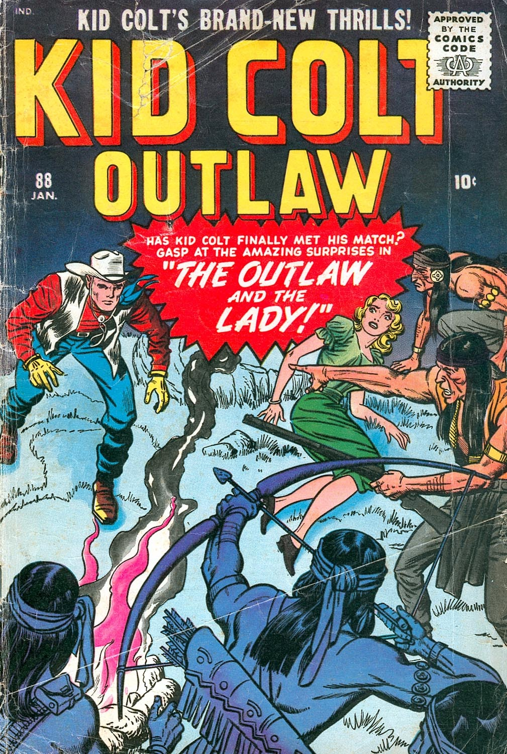 Kid Colt Outlaw issue 88 - Page 1
