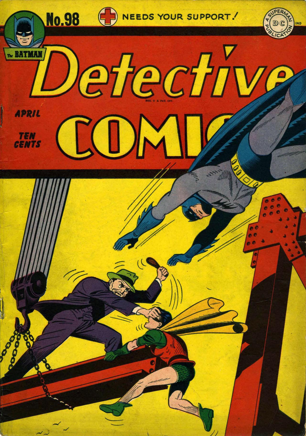 Detective Comics (1937) 98 Page 1