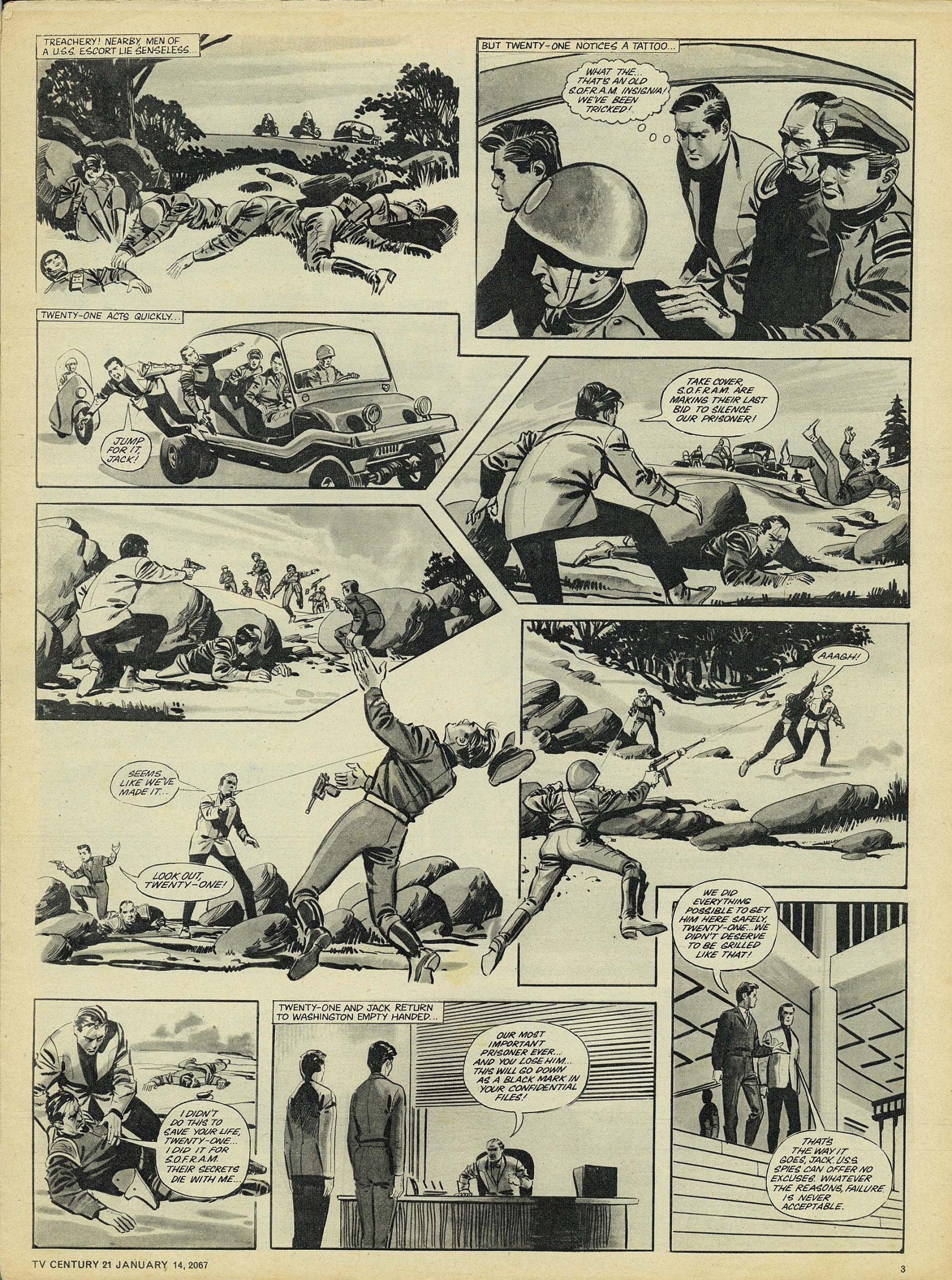 Read online TV Century 21 (TV 21) comic -  Issue #104 - 3