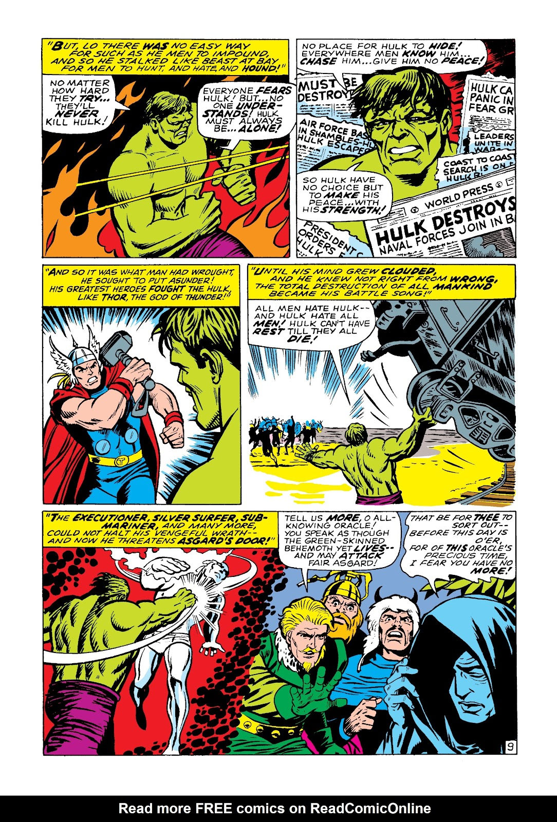 Read online Marvel Masterworks: The Incredible Hulk comic -  Issue # TPB 3 (Part 3) - 72