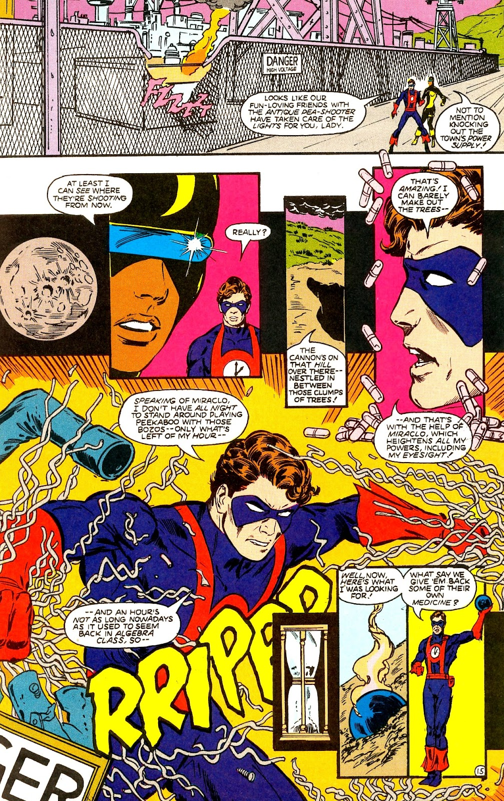 Infinity Inc. (1984) issue 22 - Page 17