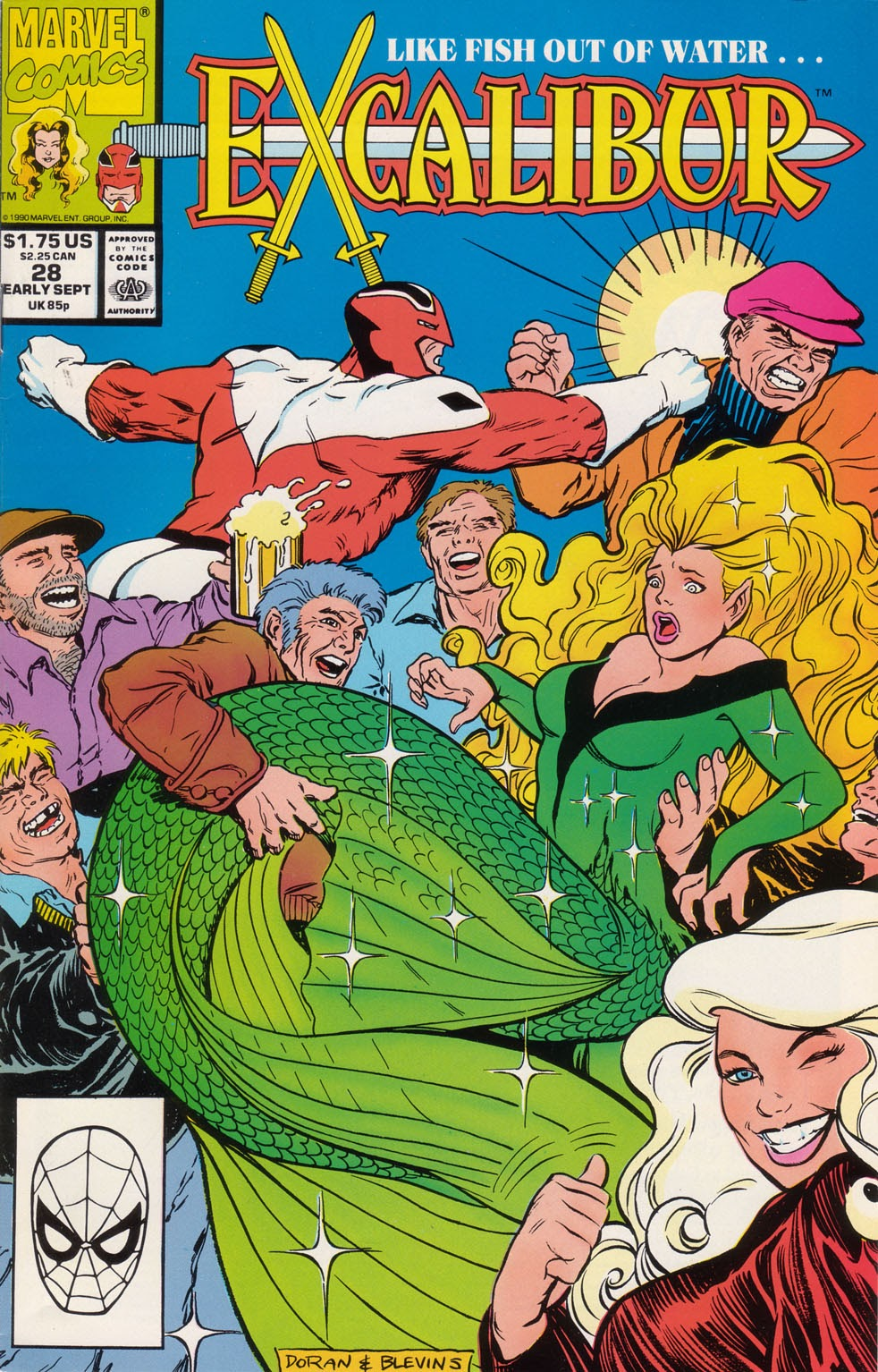 Excalibur (1988) issue 28 - Page 1
