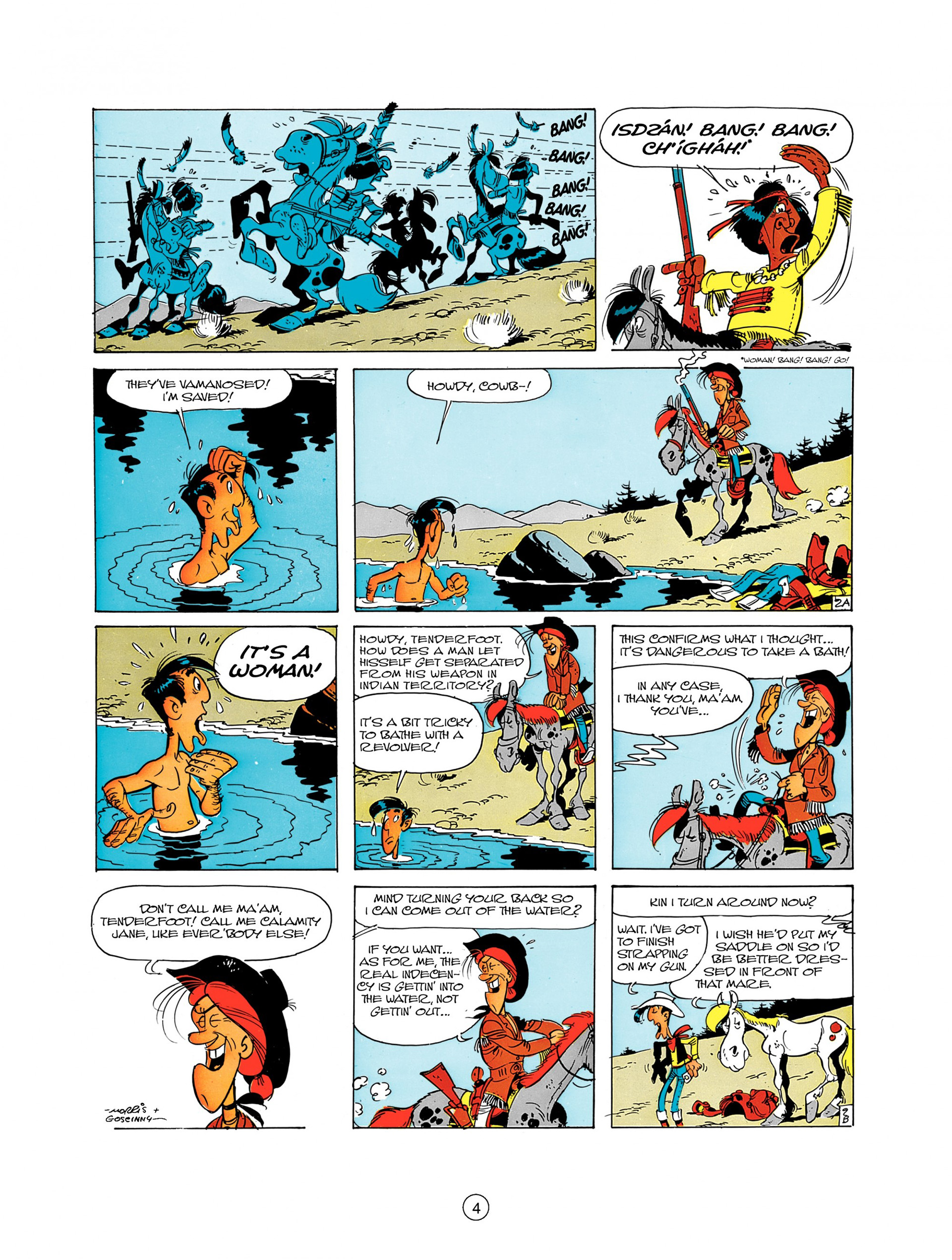 Read online A Lucky Luke Adventure comic -  Issue #8 - 4