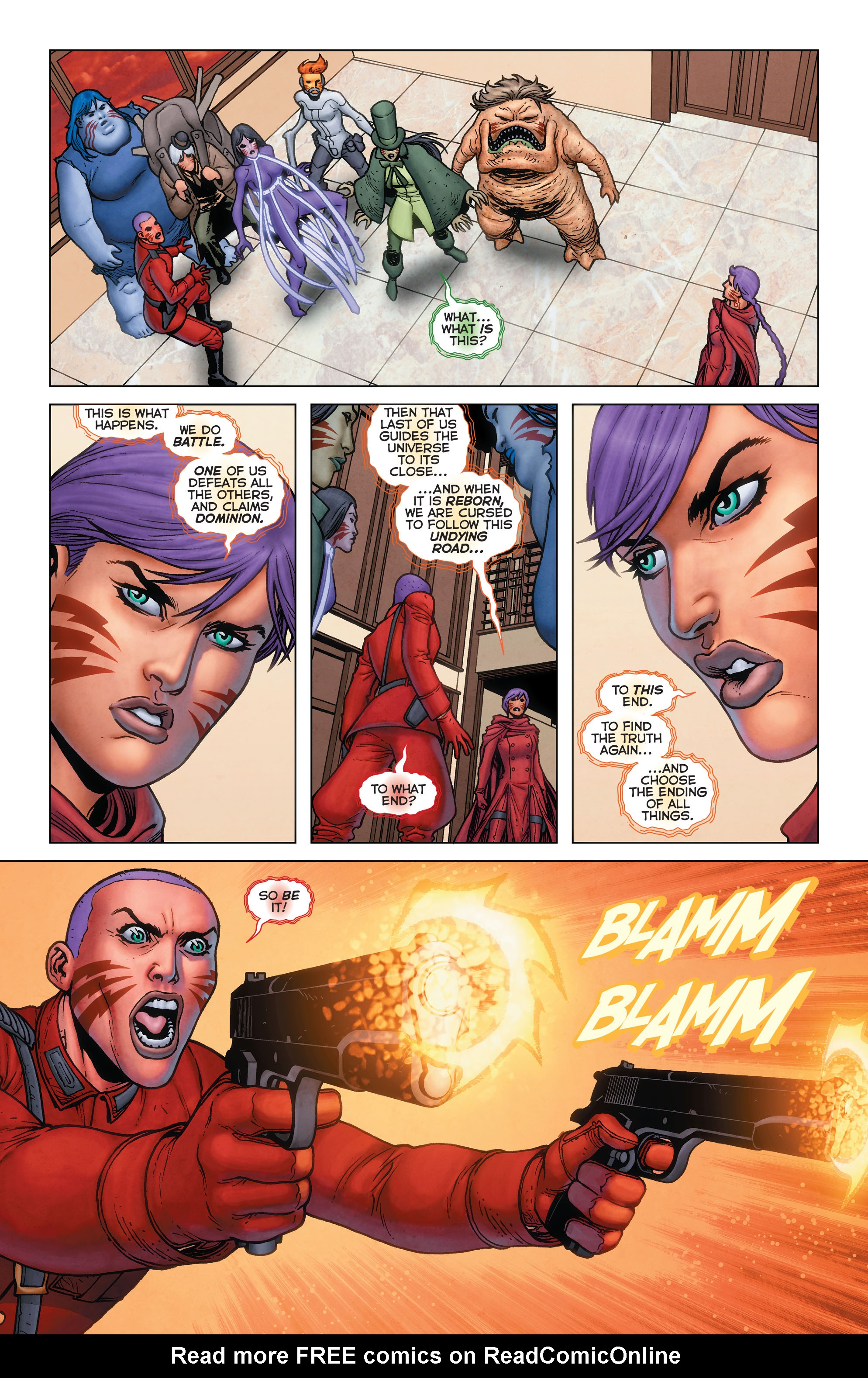 Read online Trinity of Sin: Pandora: Futures End comic -  Issue # Full - 8