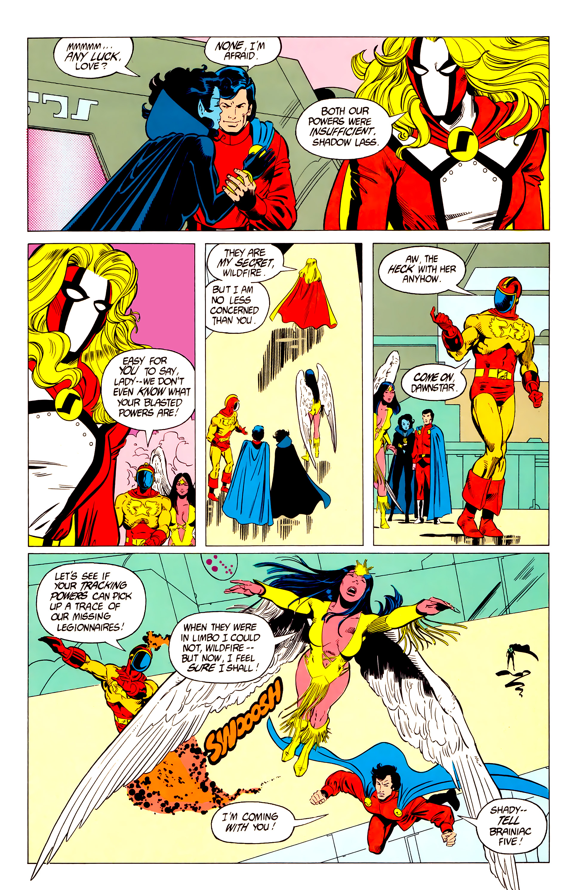 Legion of Super-Heroes (1984) 19 Page 14
