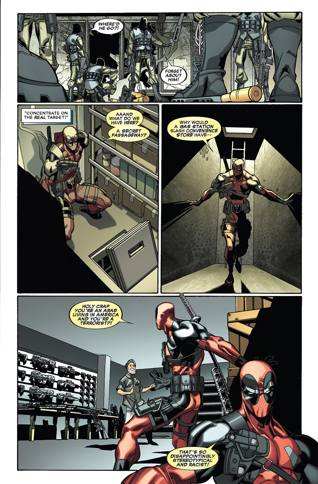 Read online Deadpool (2008) comic -  Issue #27 - 9