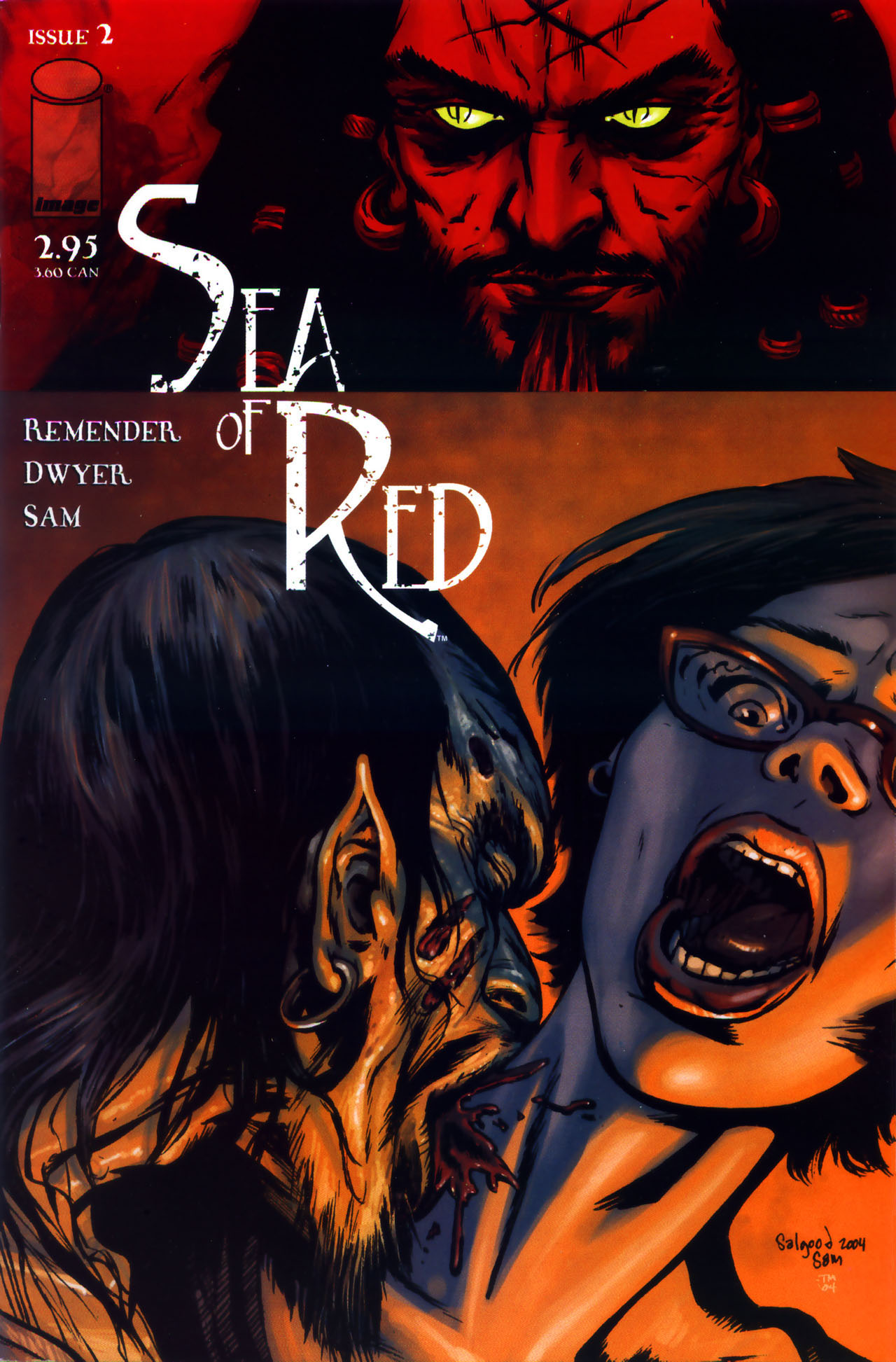 Read online Sea of Red comic -  Issue #2 - 1