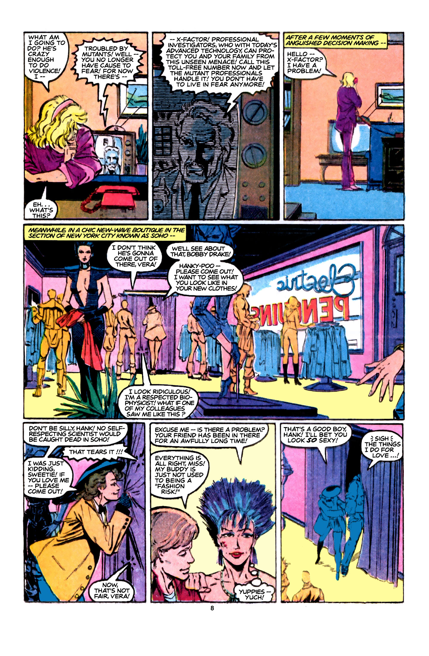 Read online X-Factor (1986) comic -  Issue #5 - 9