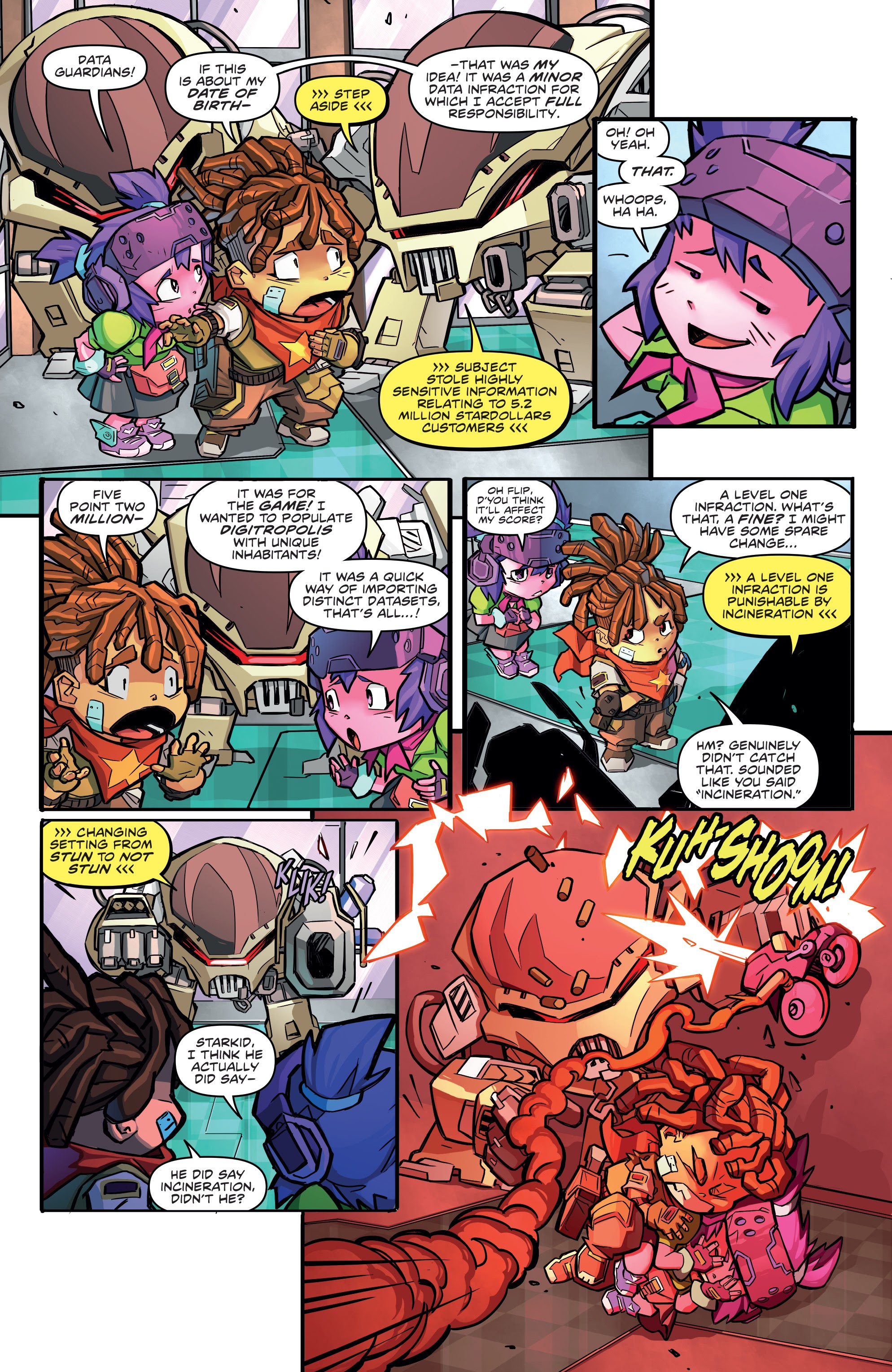 Read online Starcadia Quest comic -  Issue #1 - 19