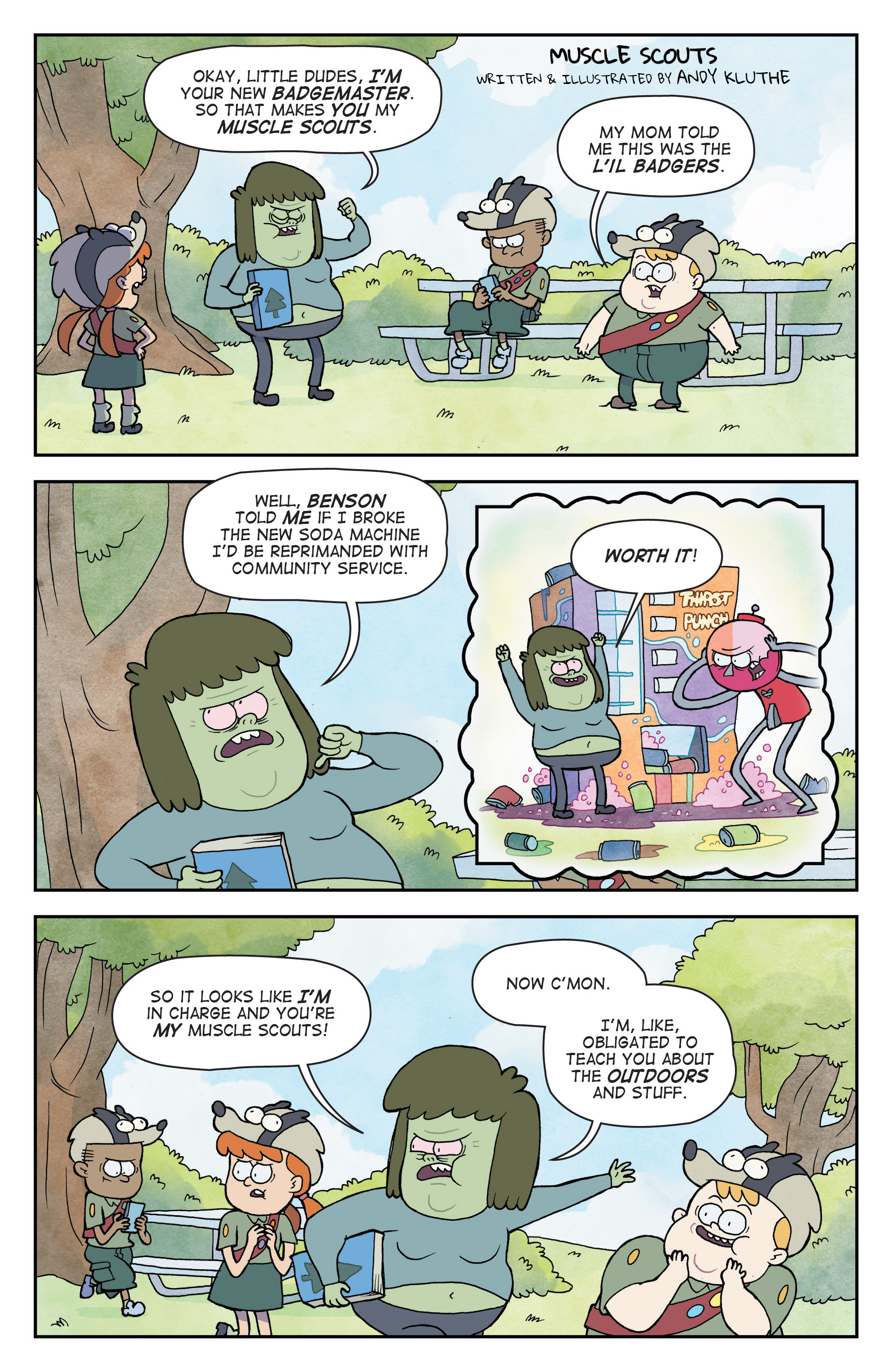 Read online Regular Show comic -  Issue # _Annual 1 - 24