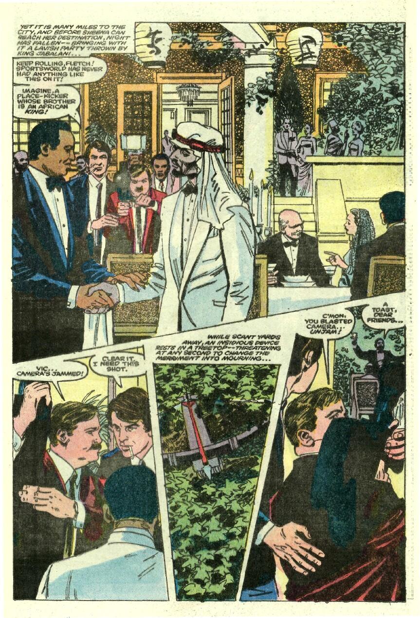 Read online Sheena comic -  Issue #1 - 16