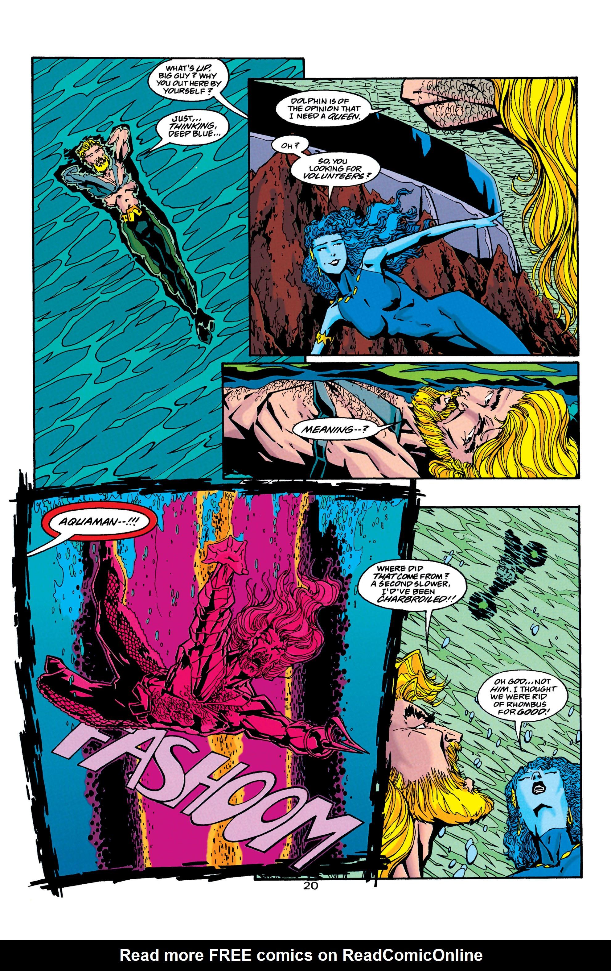 Read online Aquaman (1994) comic -  Issue #38 - 20