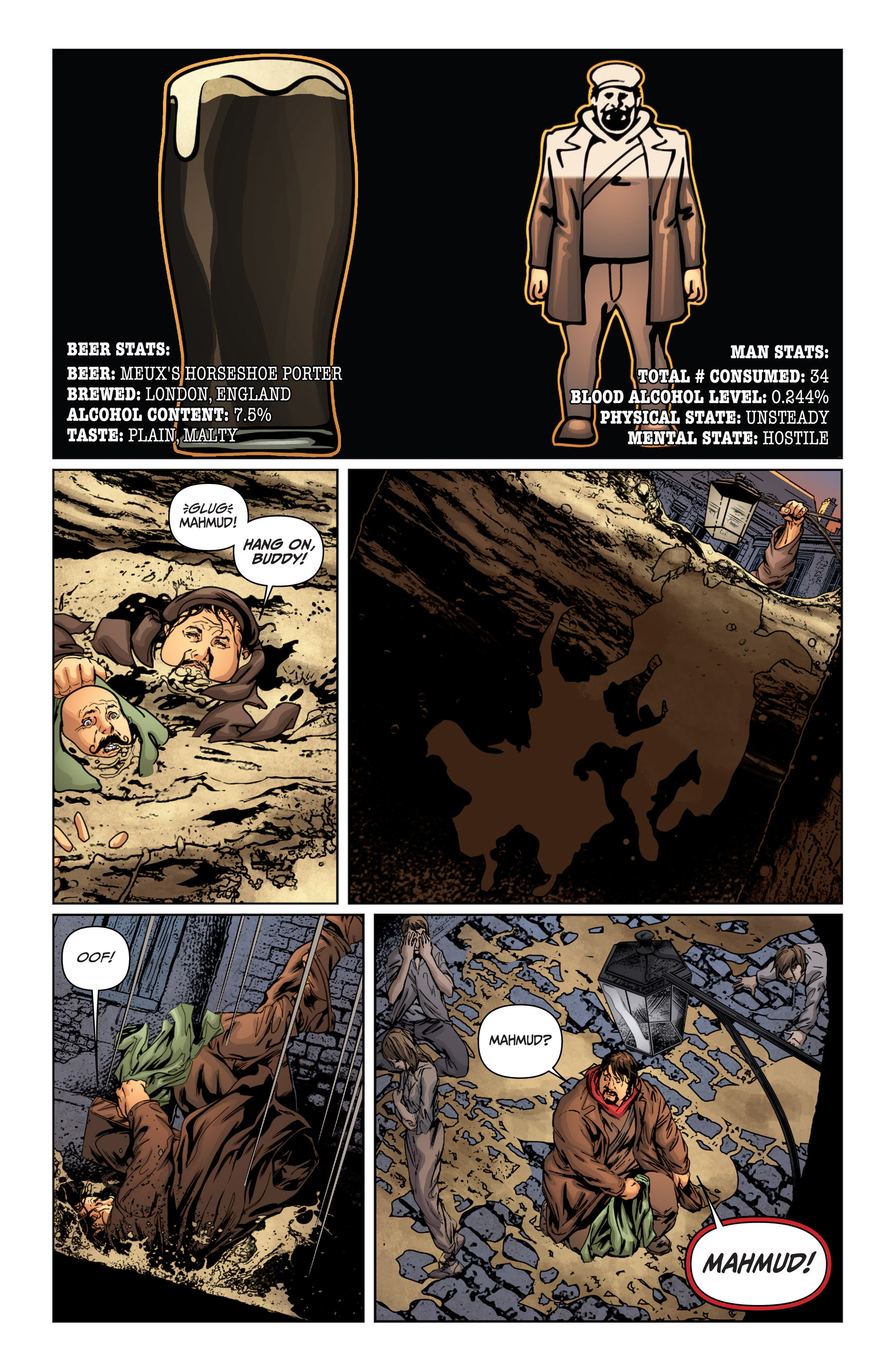 Read online Archer and Armstrong comic -  Issue #15 - 16