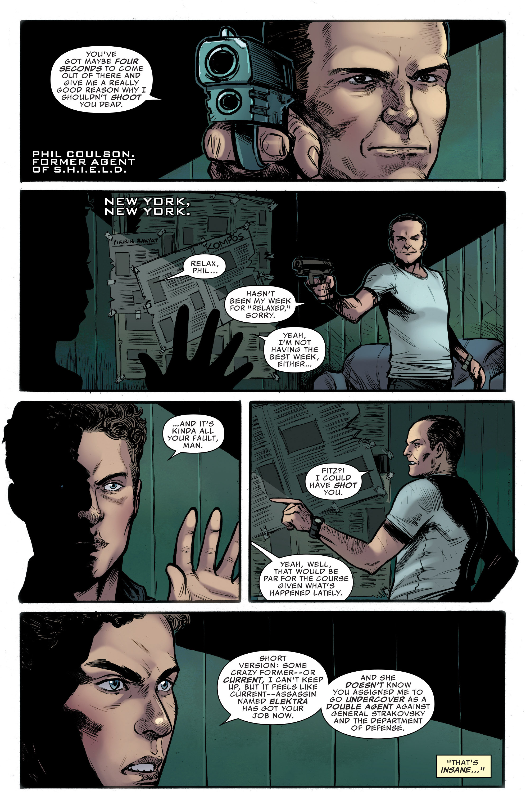 Read online Agents of S.H.I.E.L.D. comic -  Issue #9 - 7
