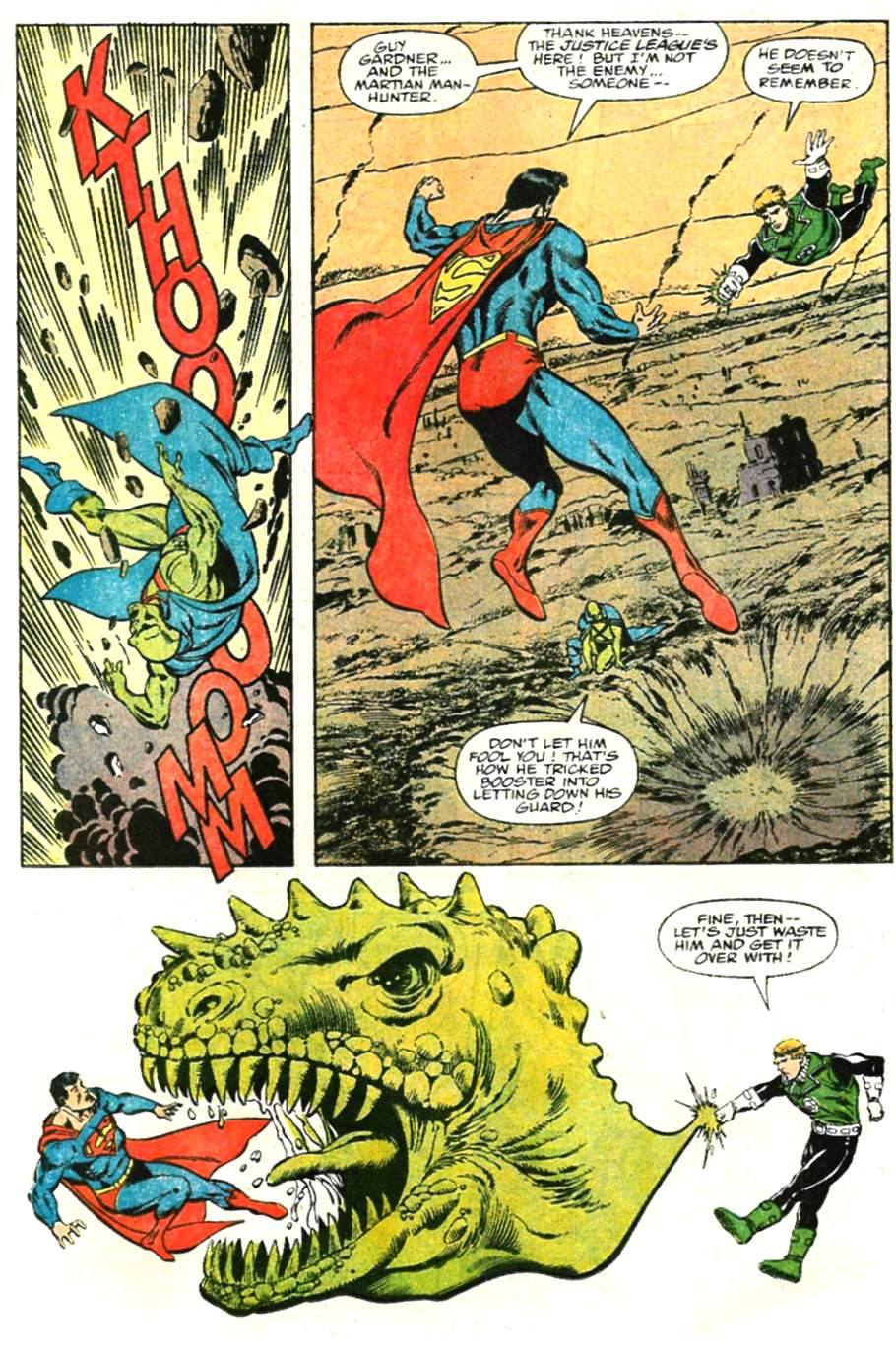 Read online Adventures of Superman (1987) comic -  Issue #479 - 17