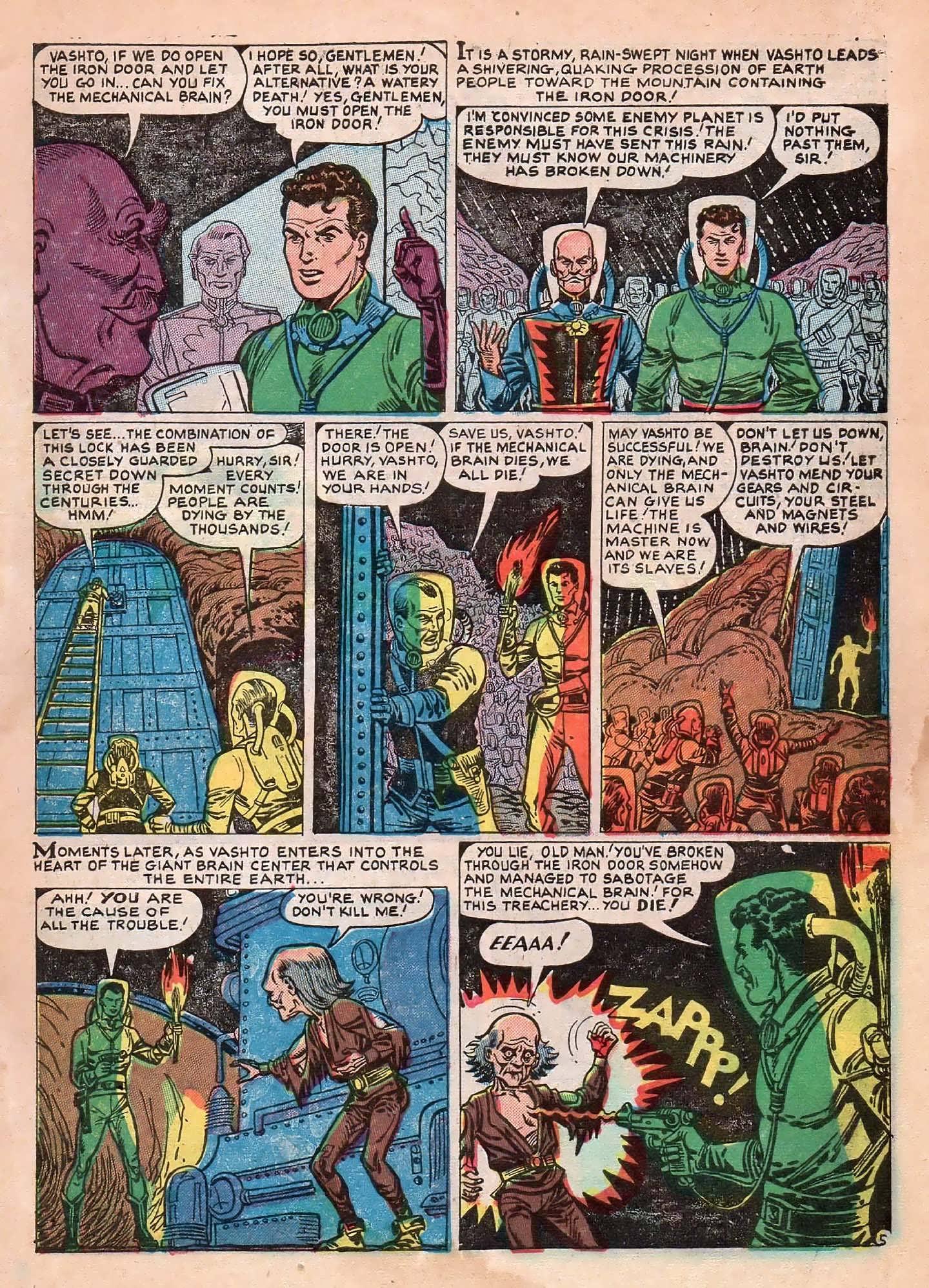 Read online Adventures into Weird Worlds comic -  Issue #2 - 7