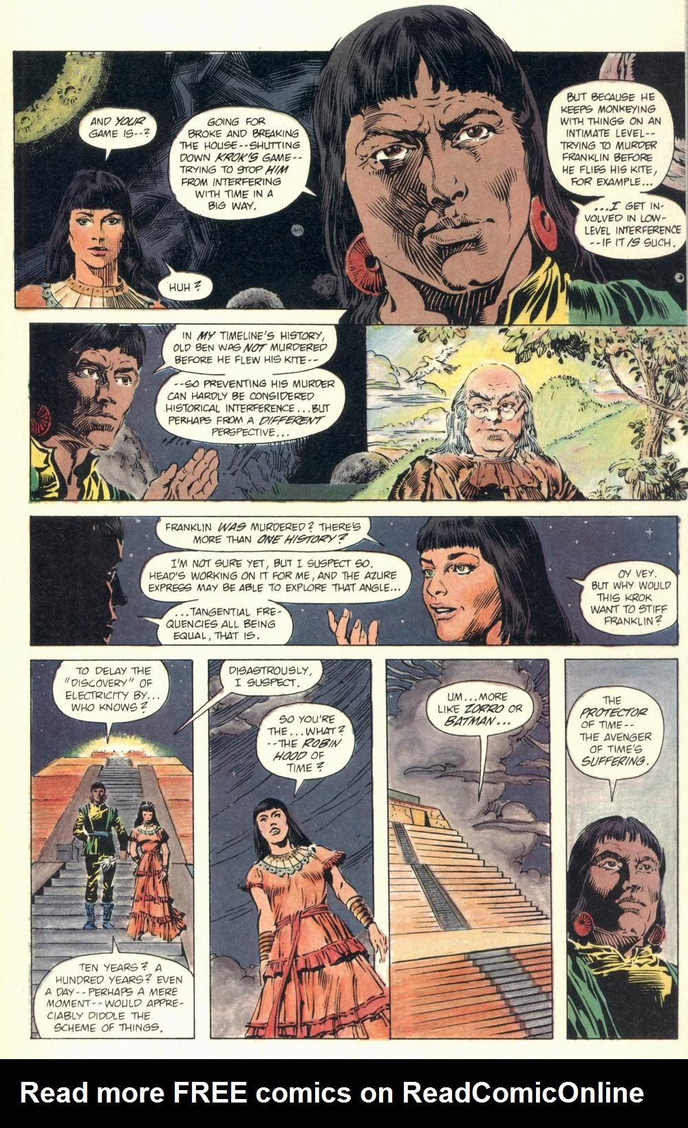 Read online Aztec Ace comic -  Issue #1 - 23
